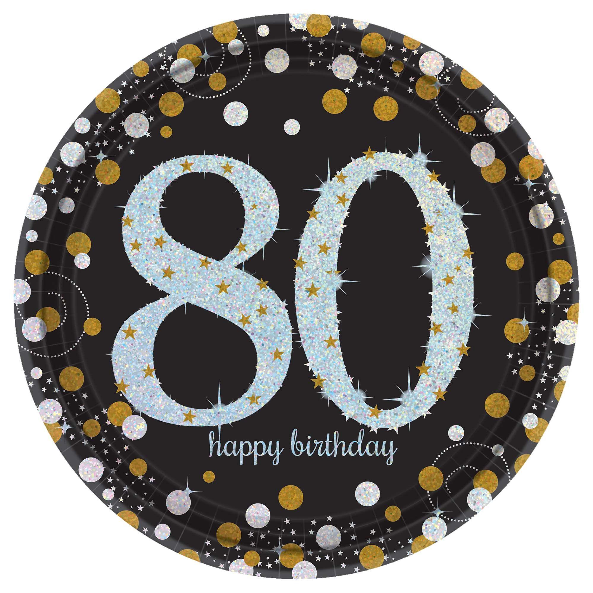 Sparkling Celebration 80th 9in