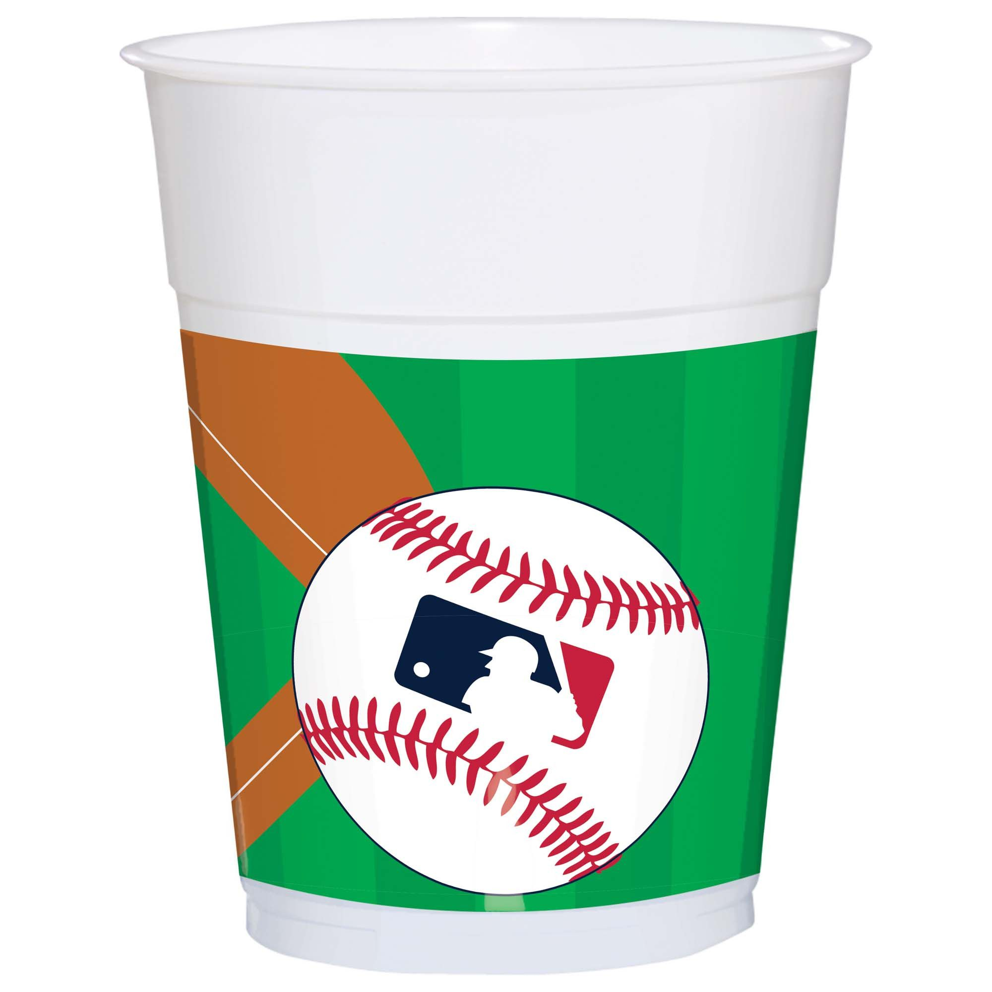MLB Plastic Cups