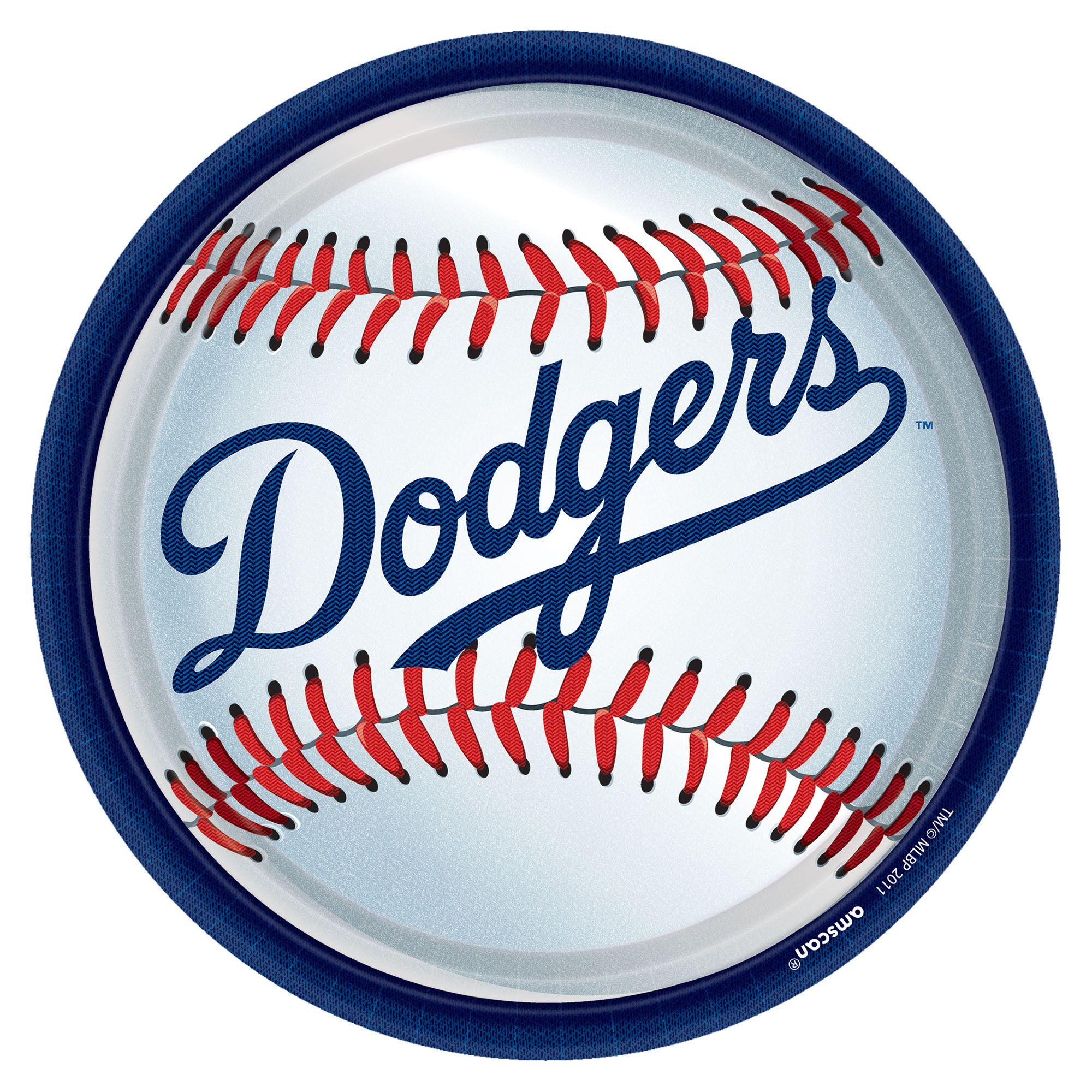 LA Dodgers 9in Pl