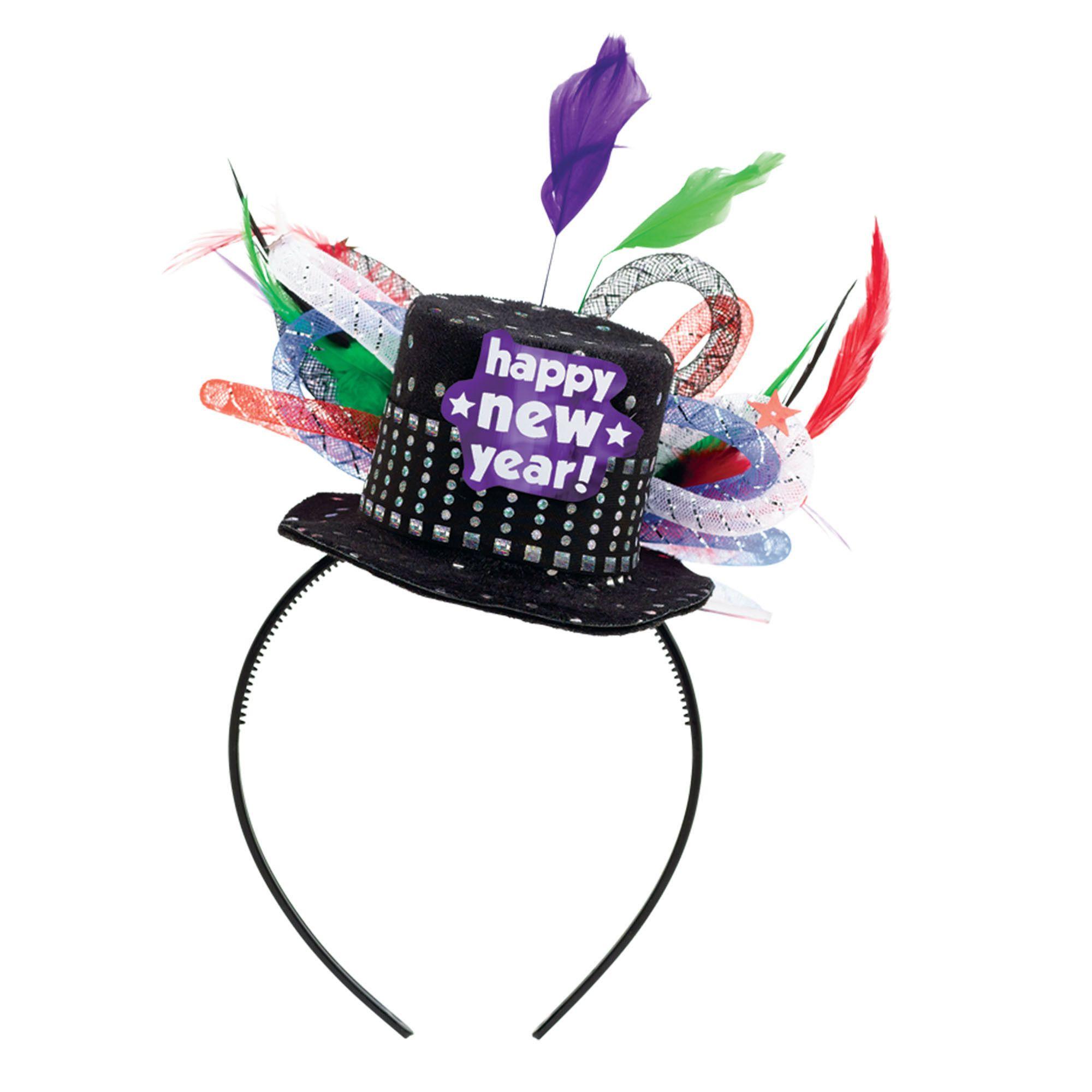 Jewel Dlx. Feathered Headband