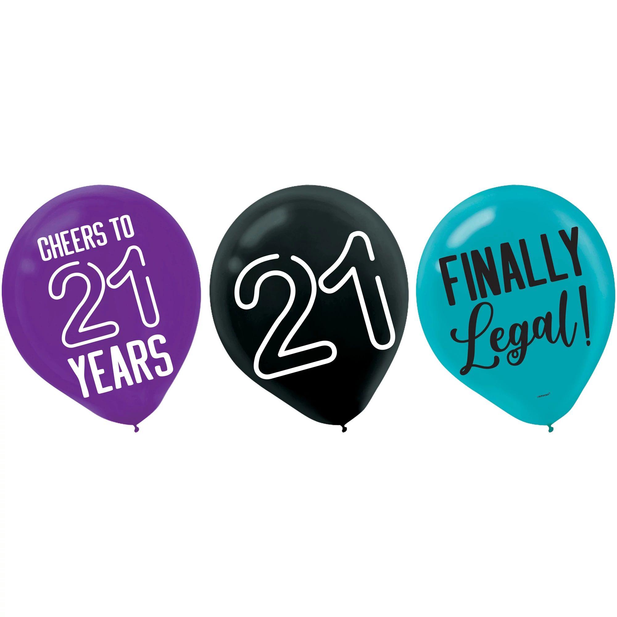 Finally 21 Latex Balloons 15ct