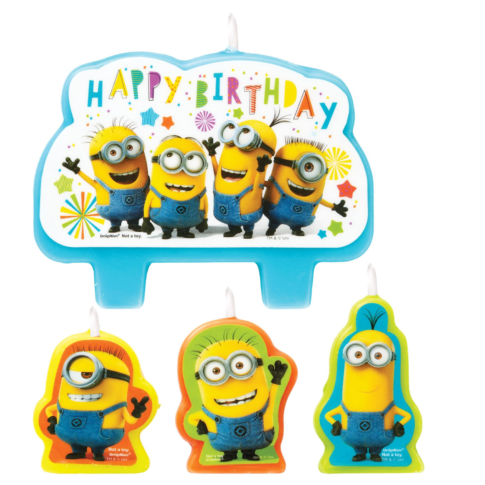 Despicable Me™ BDay Candle Set
