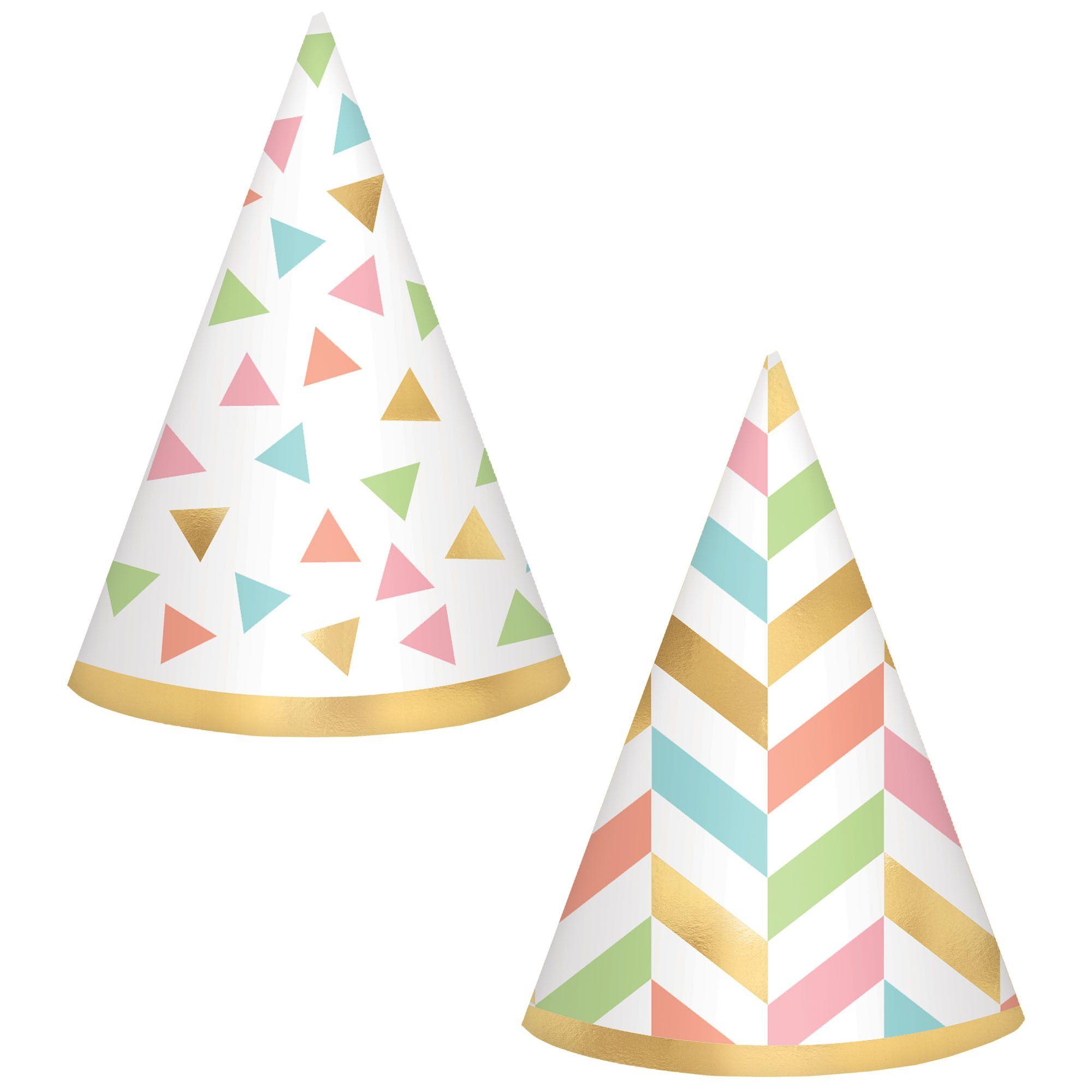 Confetti Fun Mini Foil Hats