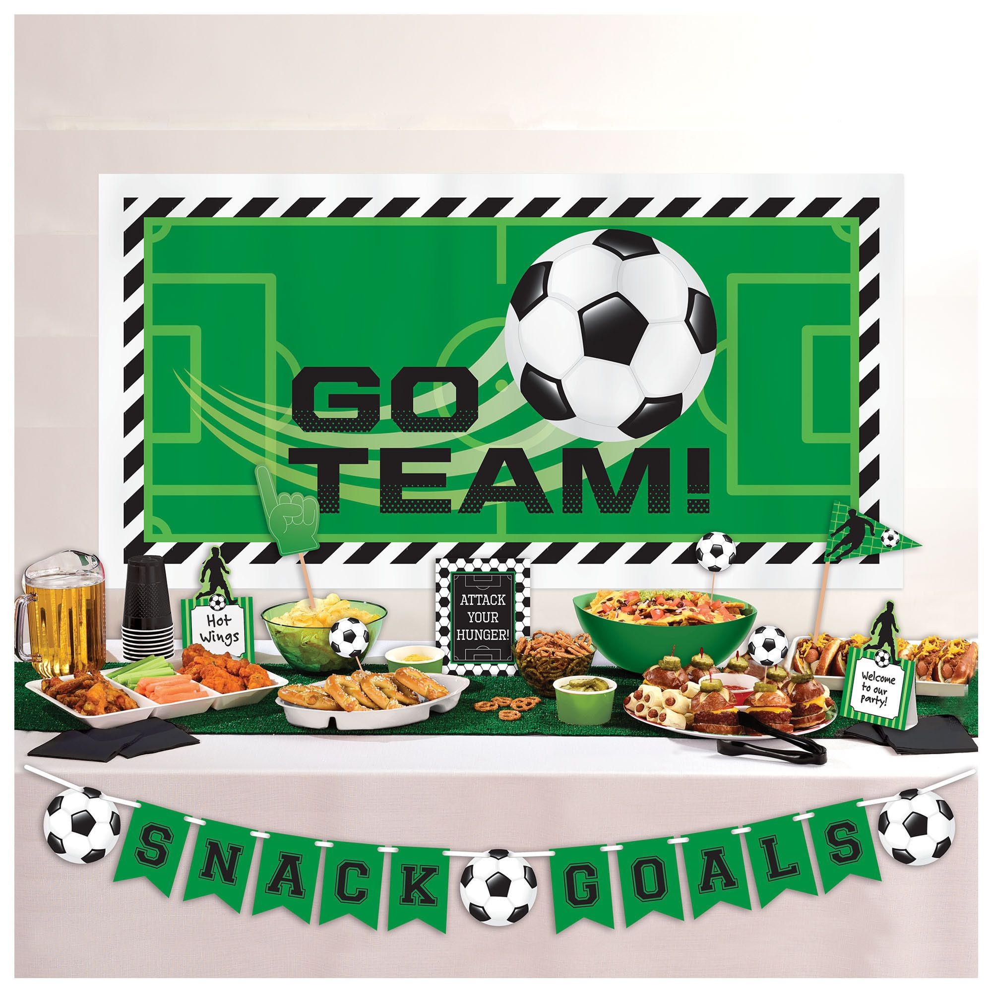 Goal Getter Dlx Buffet Deco Kit