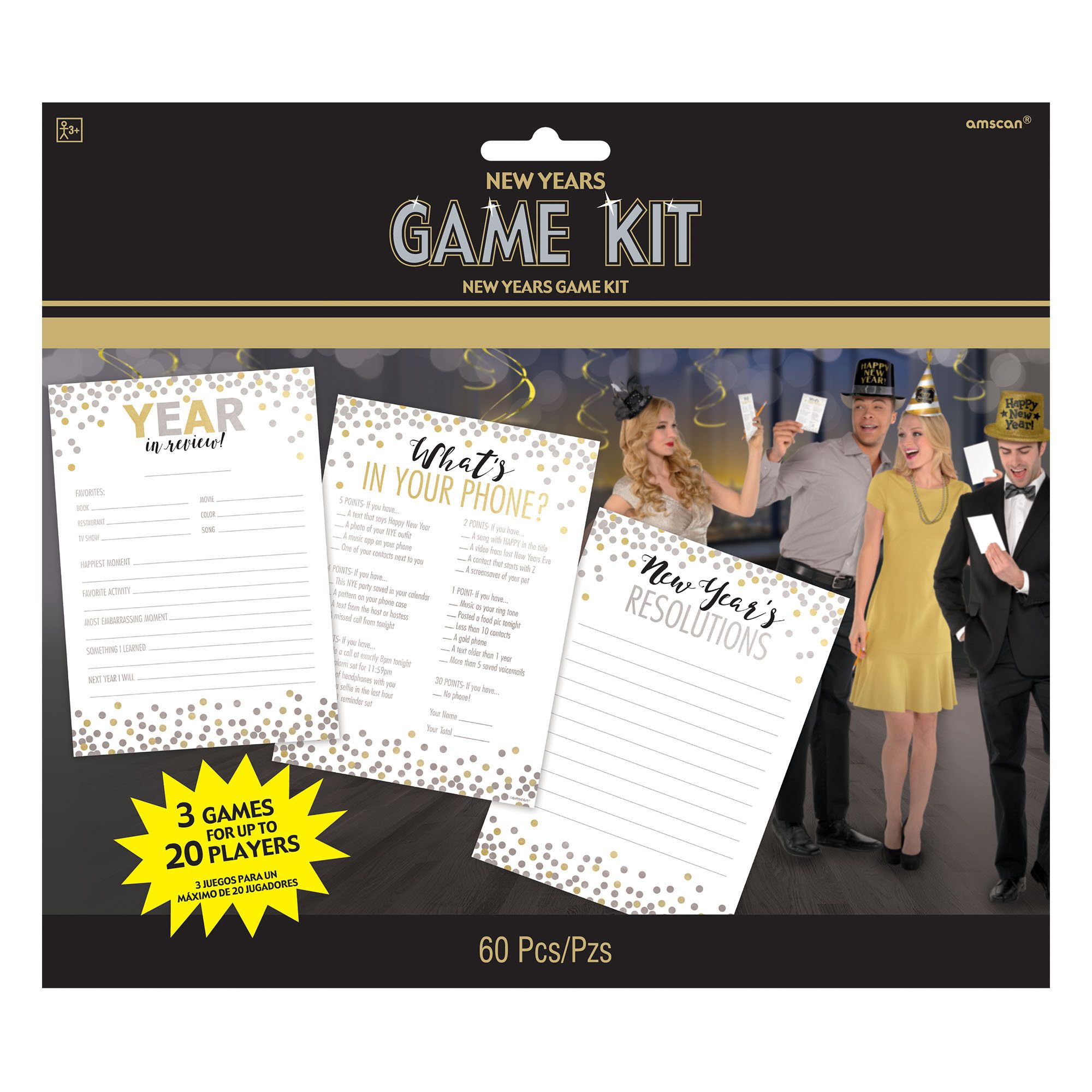 New Year's Game Kit