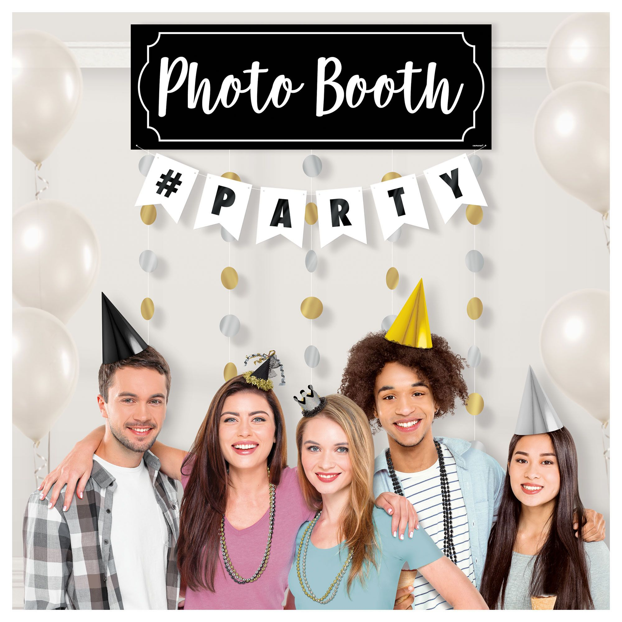 Photo Booth #Party Backdrop