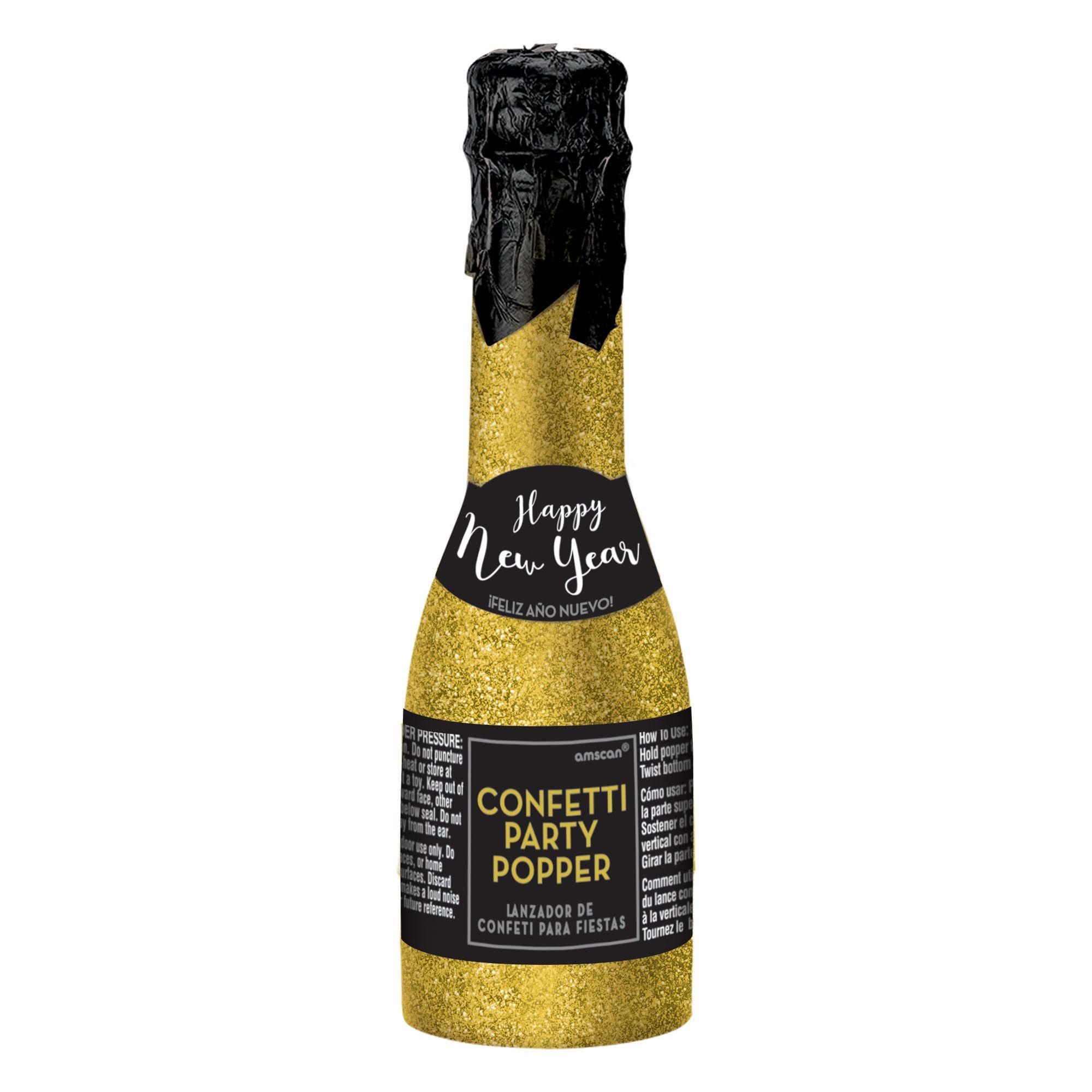 NY Mini Bottle Party Popper