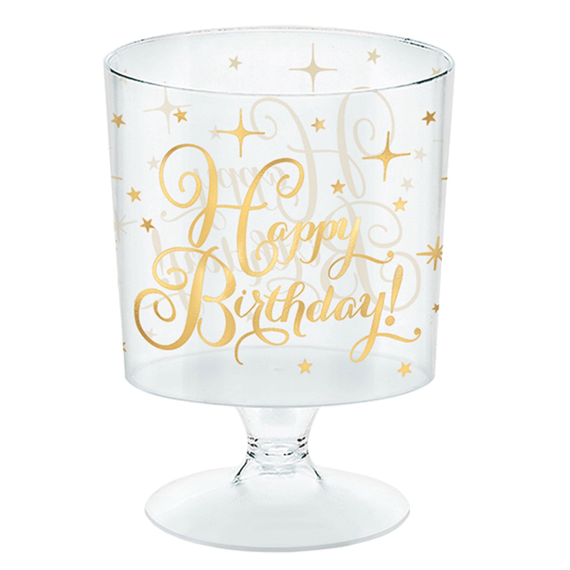 Gold Birthday Mini Pedestal