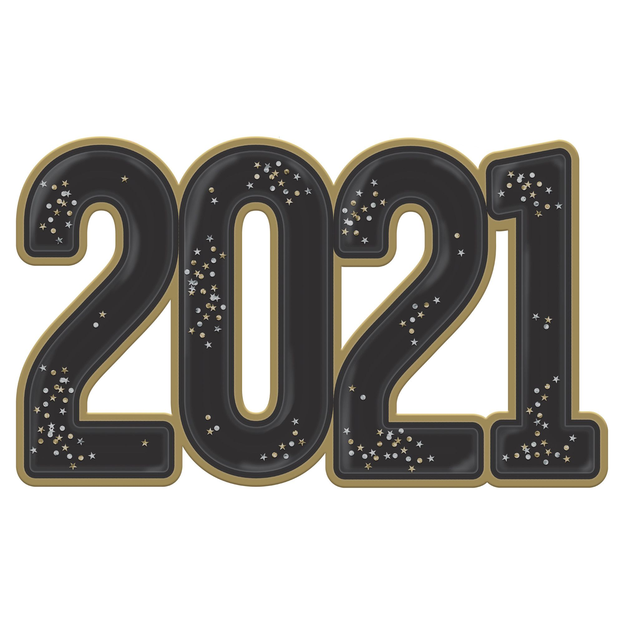 2021 Jumbo Confetti Photo Prop Paper