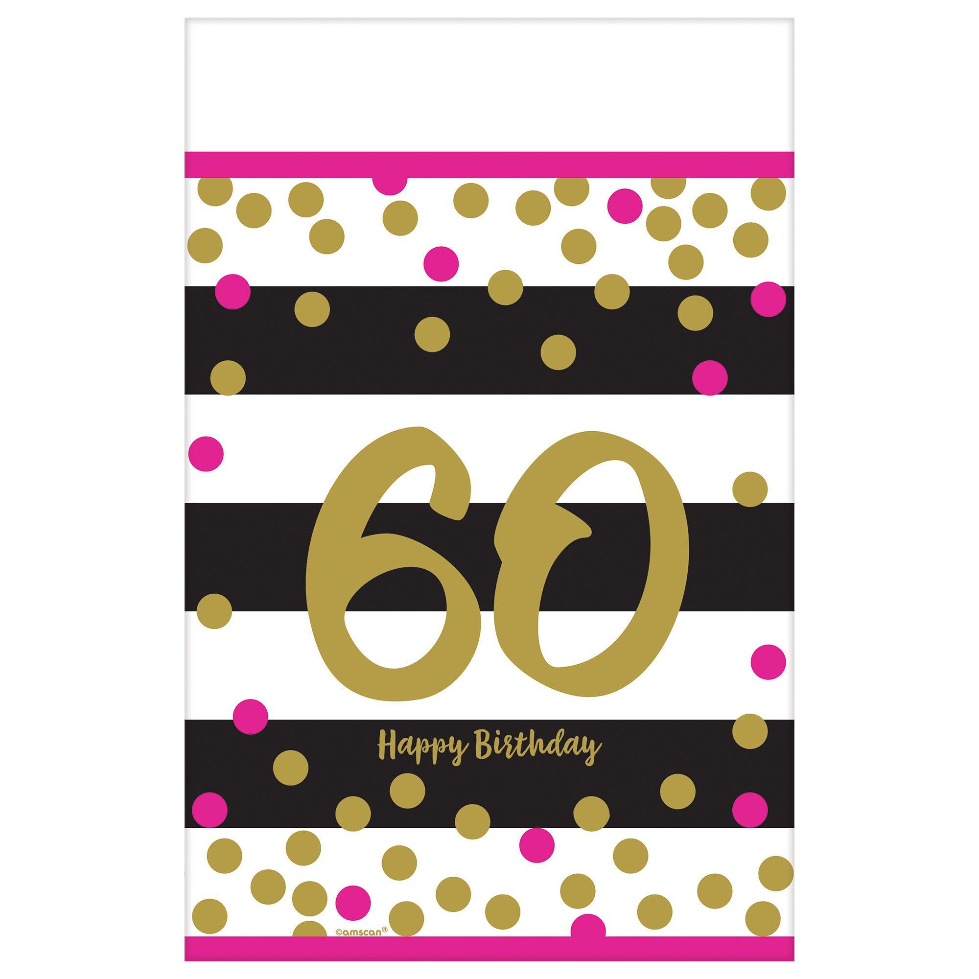 Pink & Gold Milestone 60 TC
