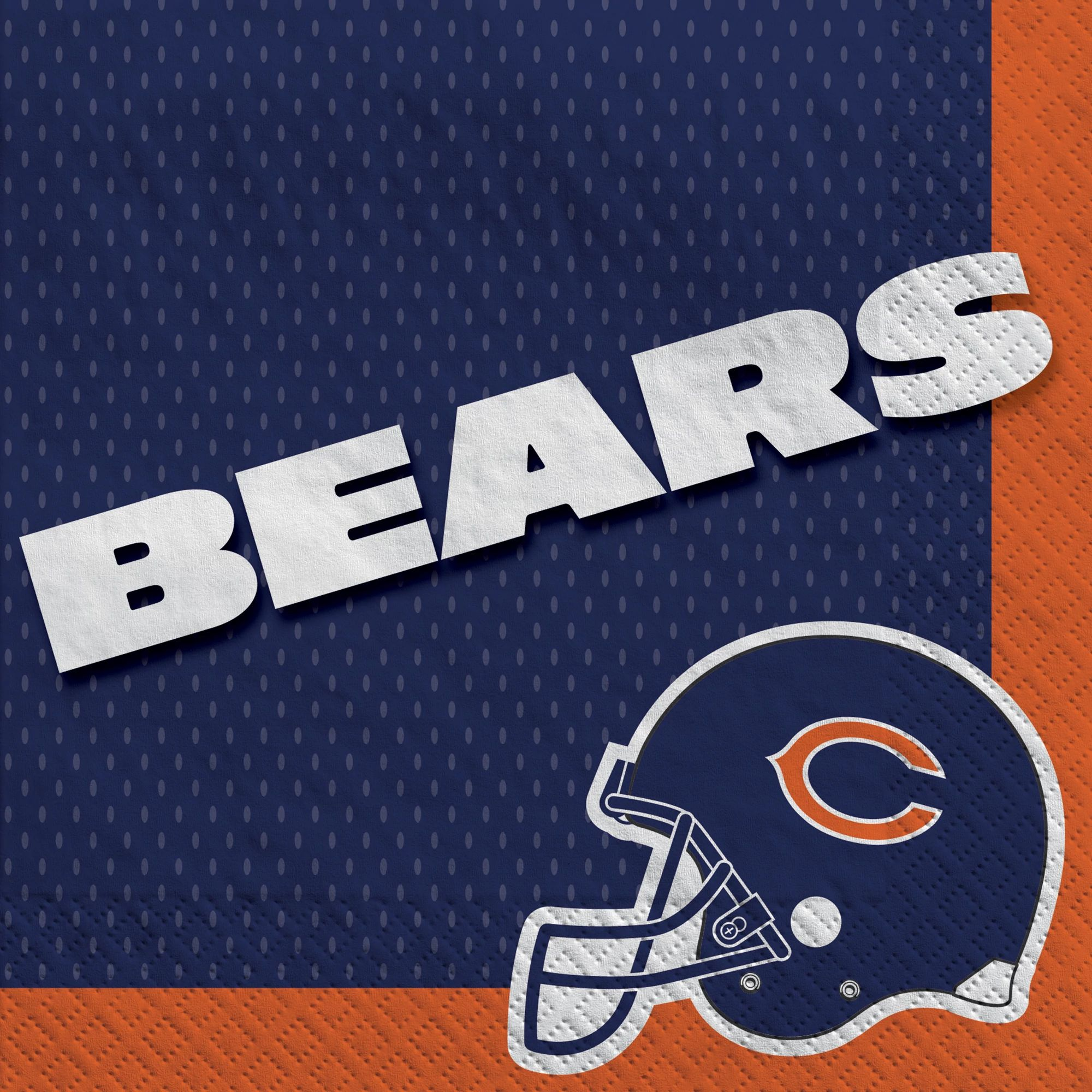 Chicago Bears Lunch Napkins