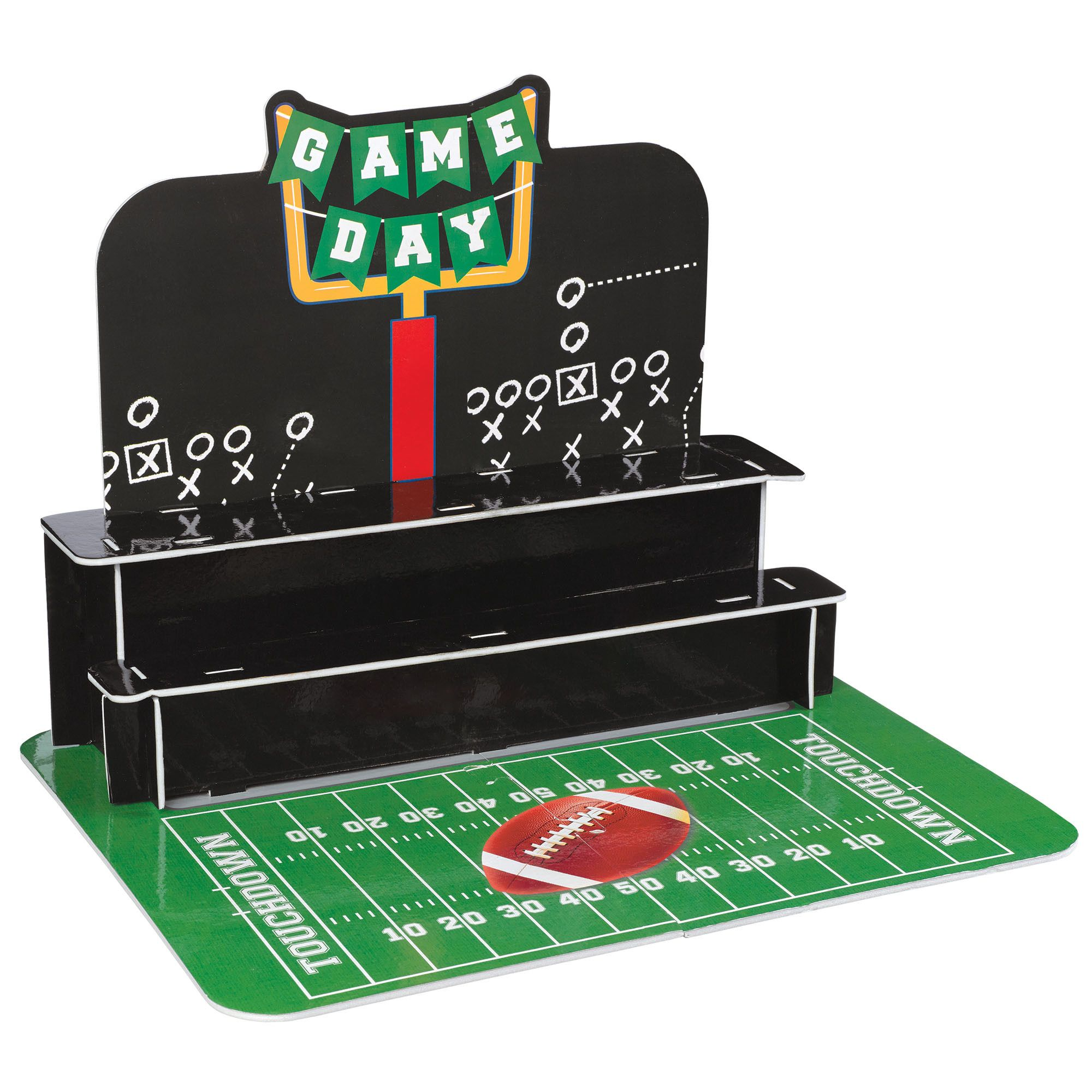 Football Cupcake Stand