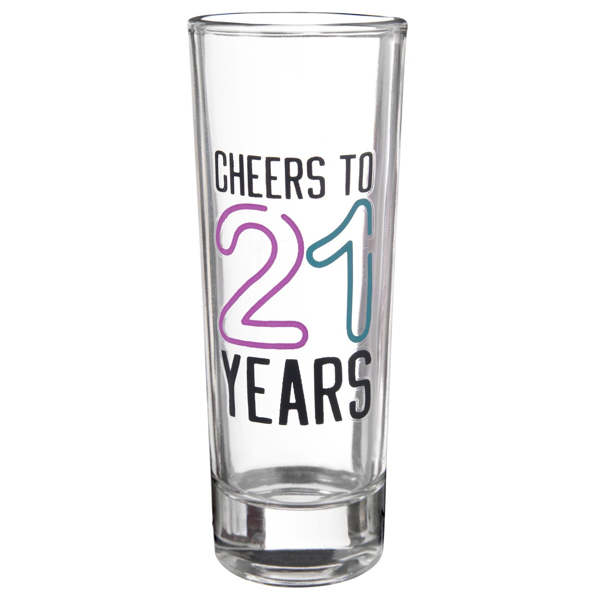 Finally 21 Shot Glass