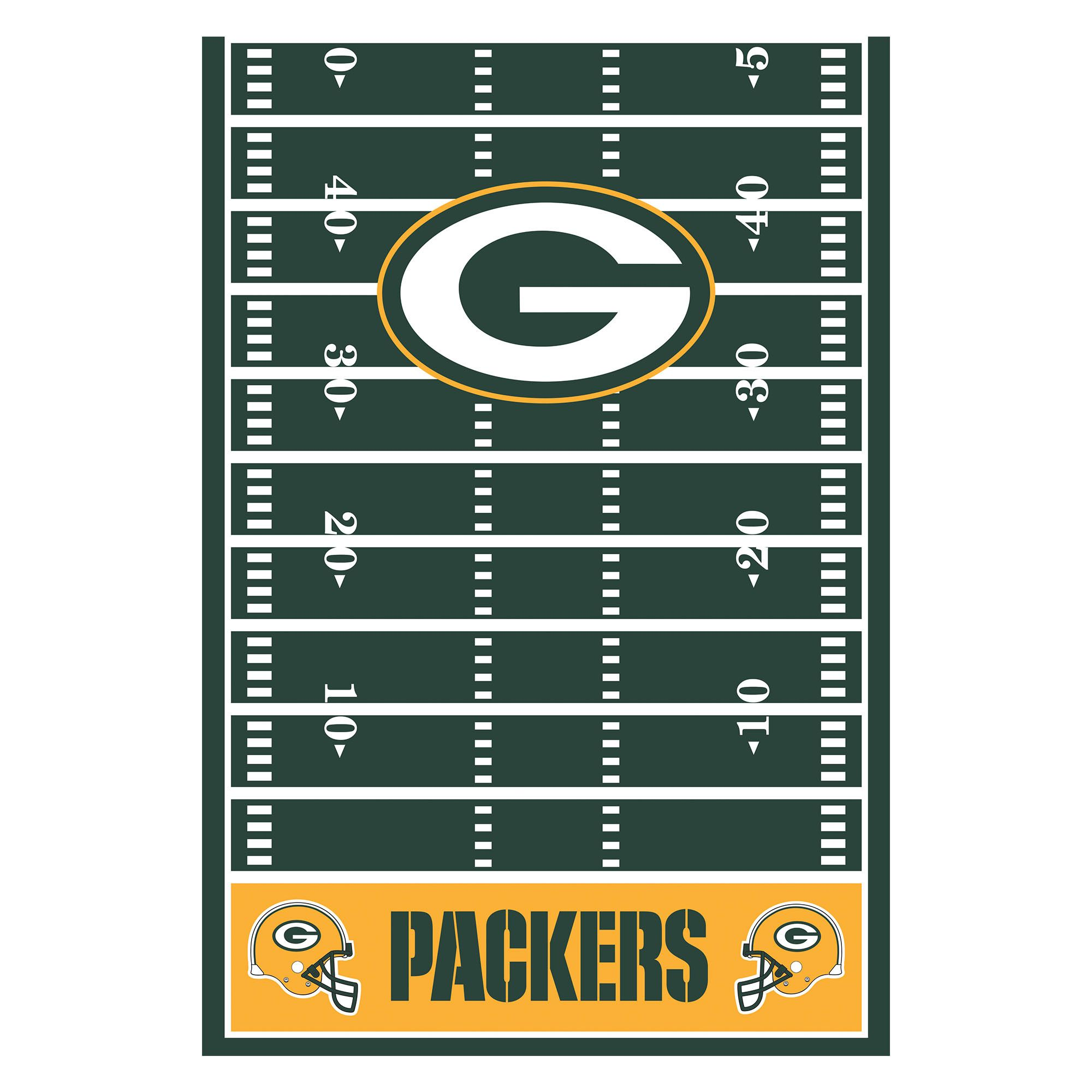 Green Bay Packers Table Cover All Over Print