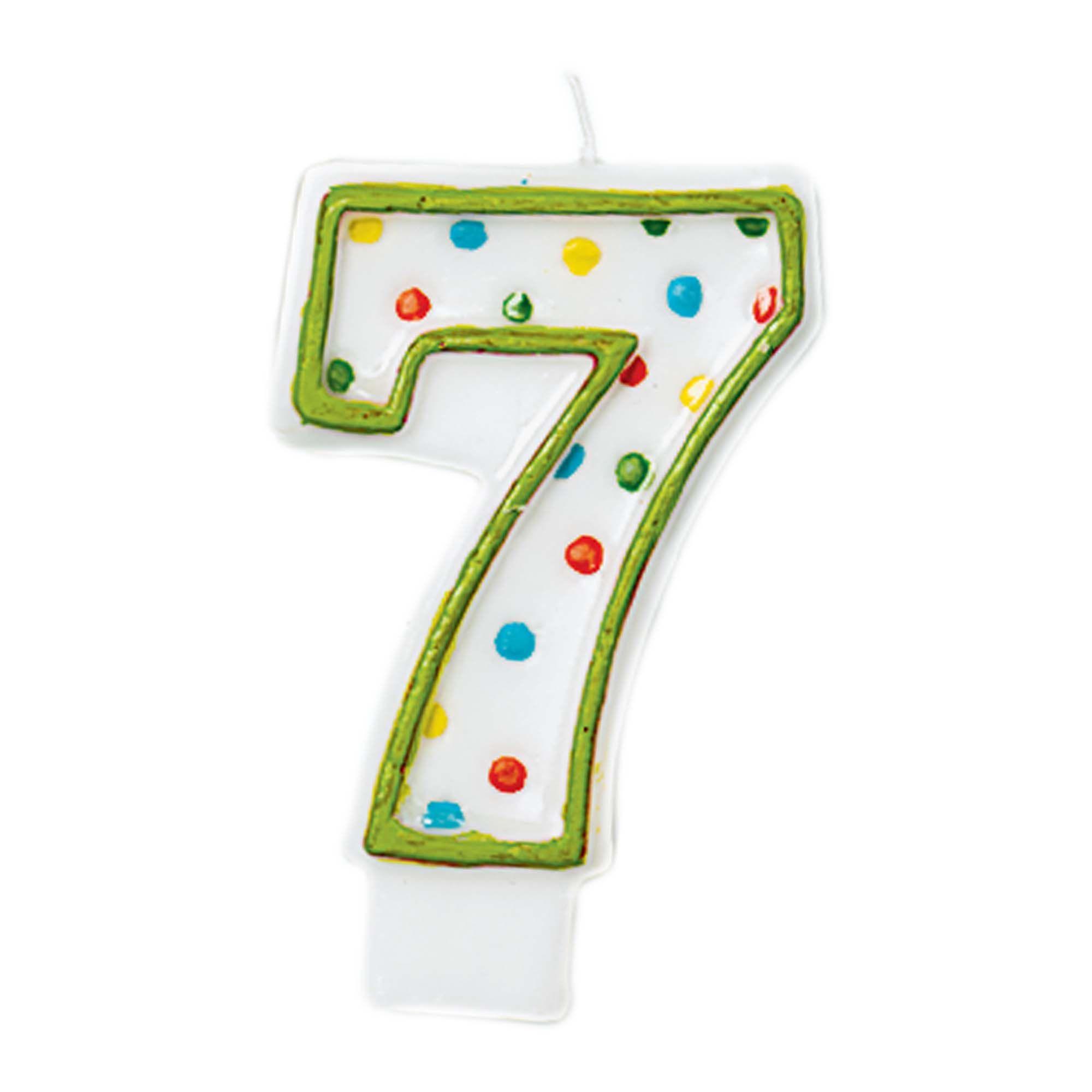 #7 Polka Dot Candle