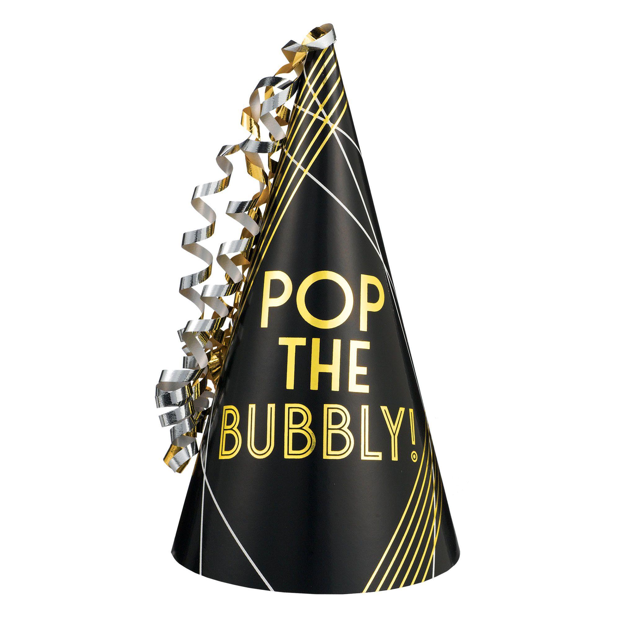 Pop The Bubbly Foil Hat