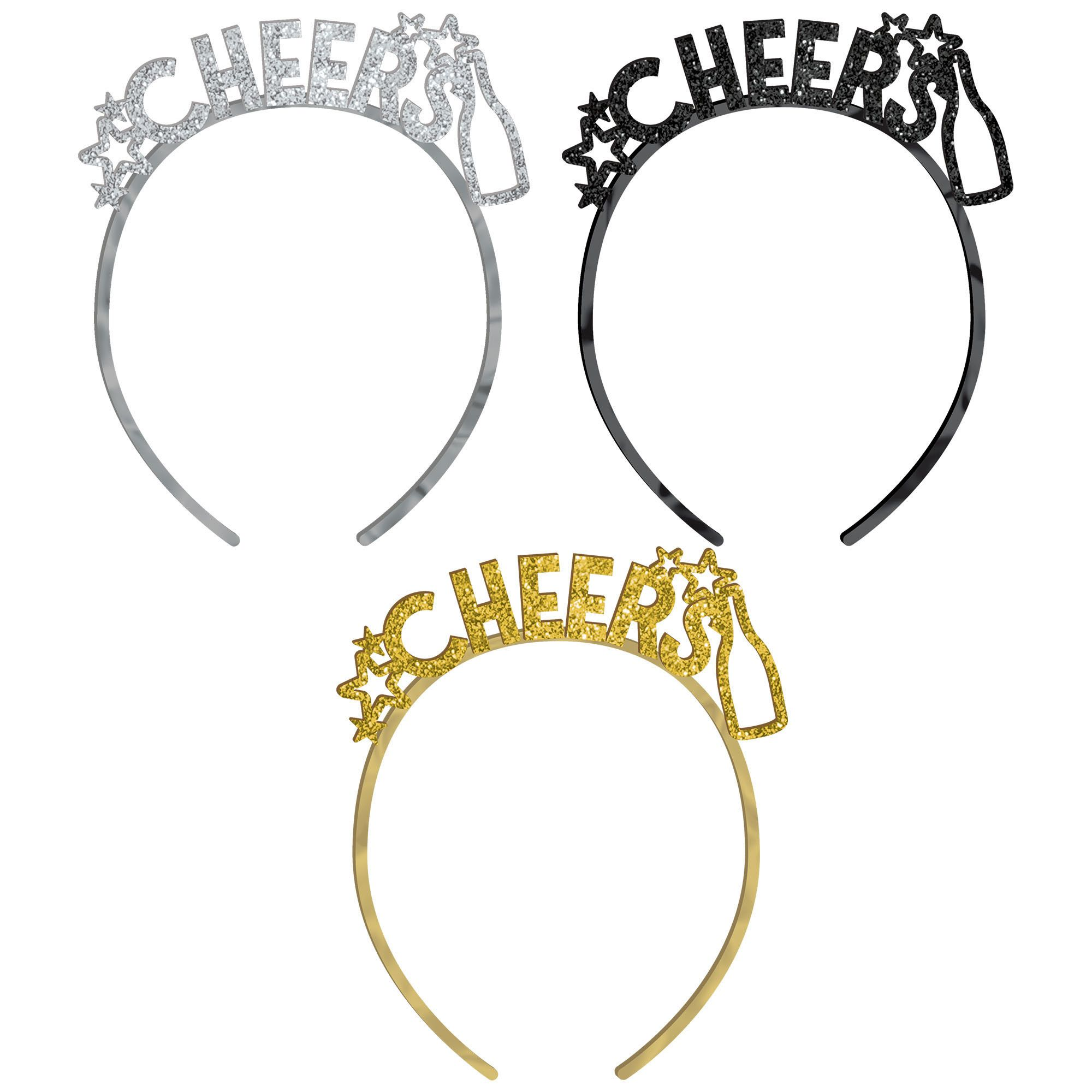 NY BSG Plastic Headbands