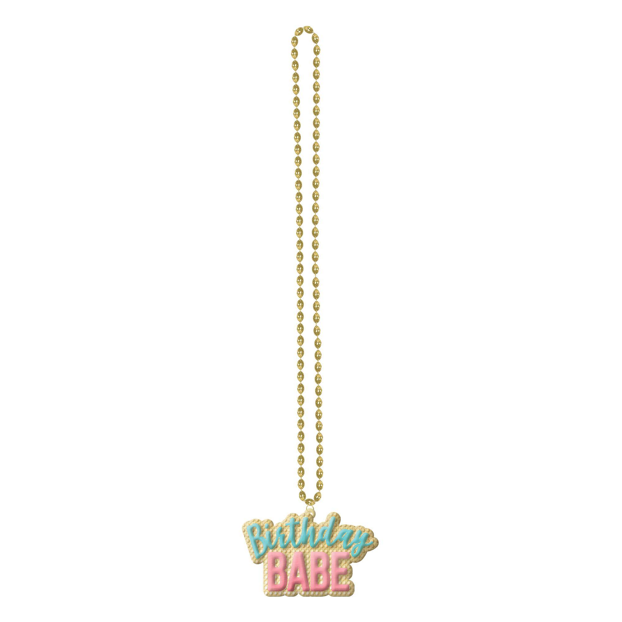 Confetti Fun Bead Necklace