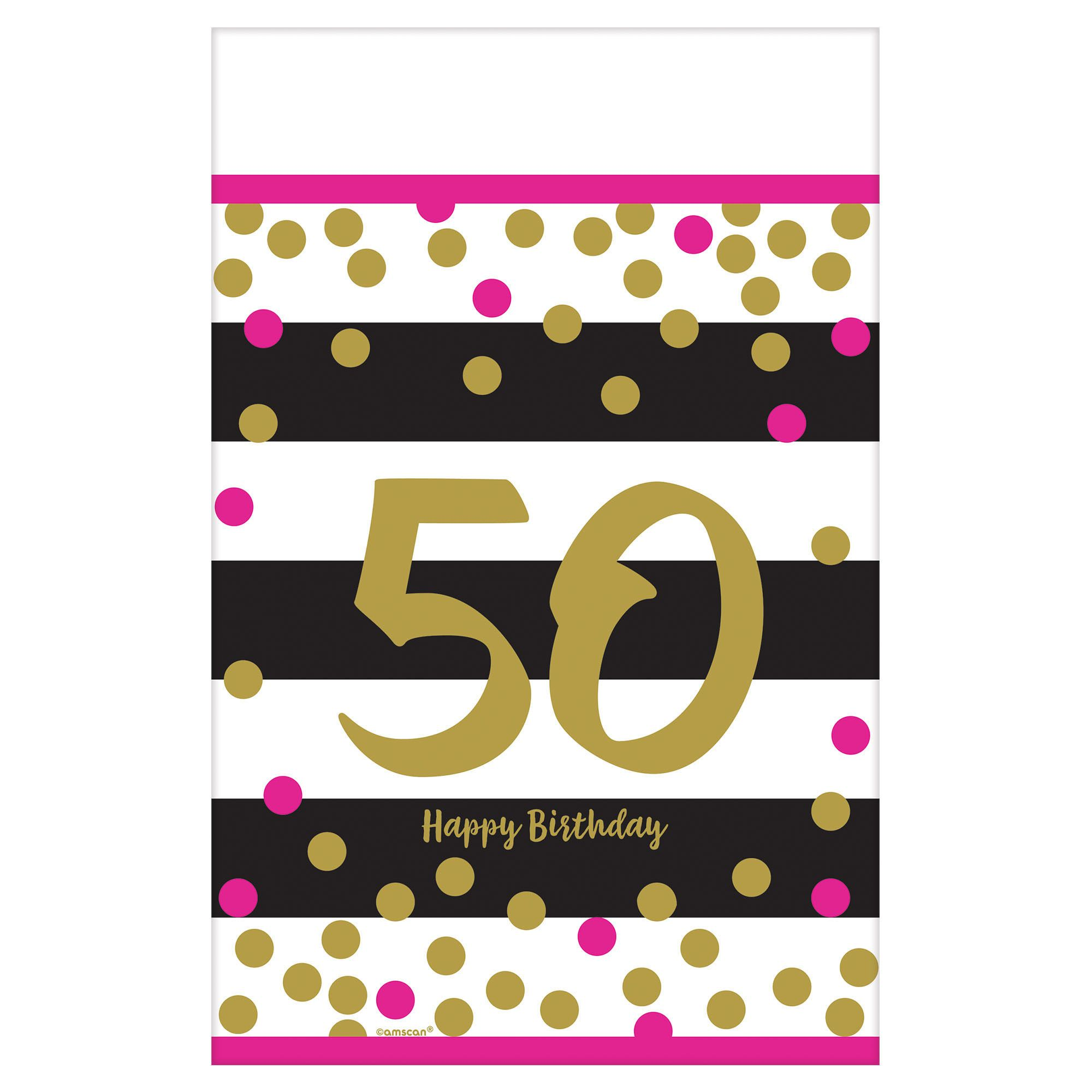 Pink & Gold Milestone 50 TC