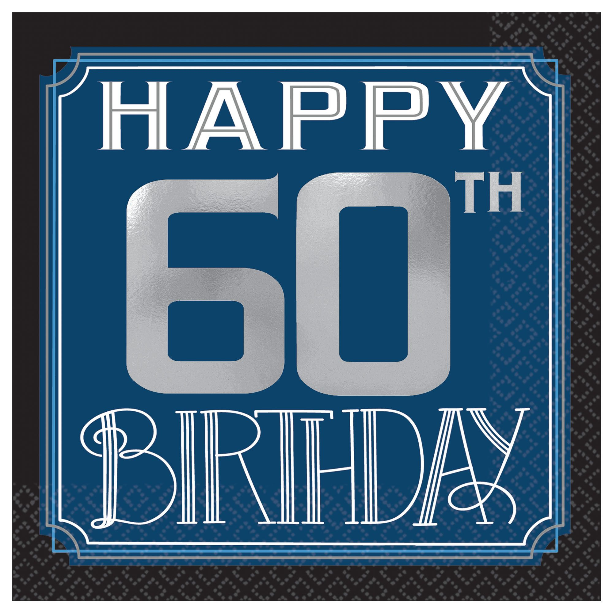 Happy Manly Bday 60th BN
