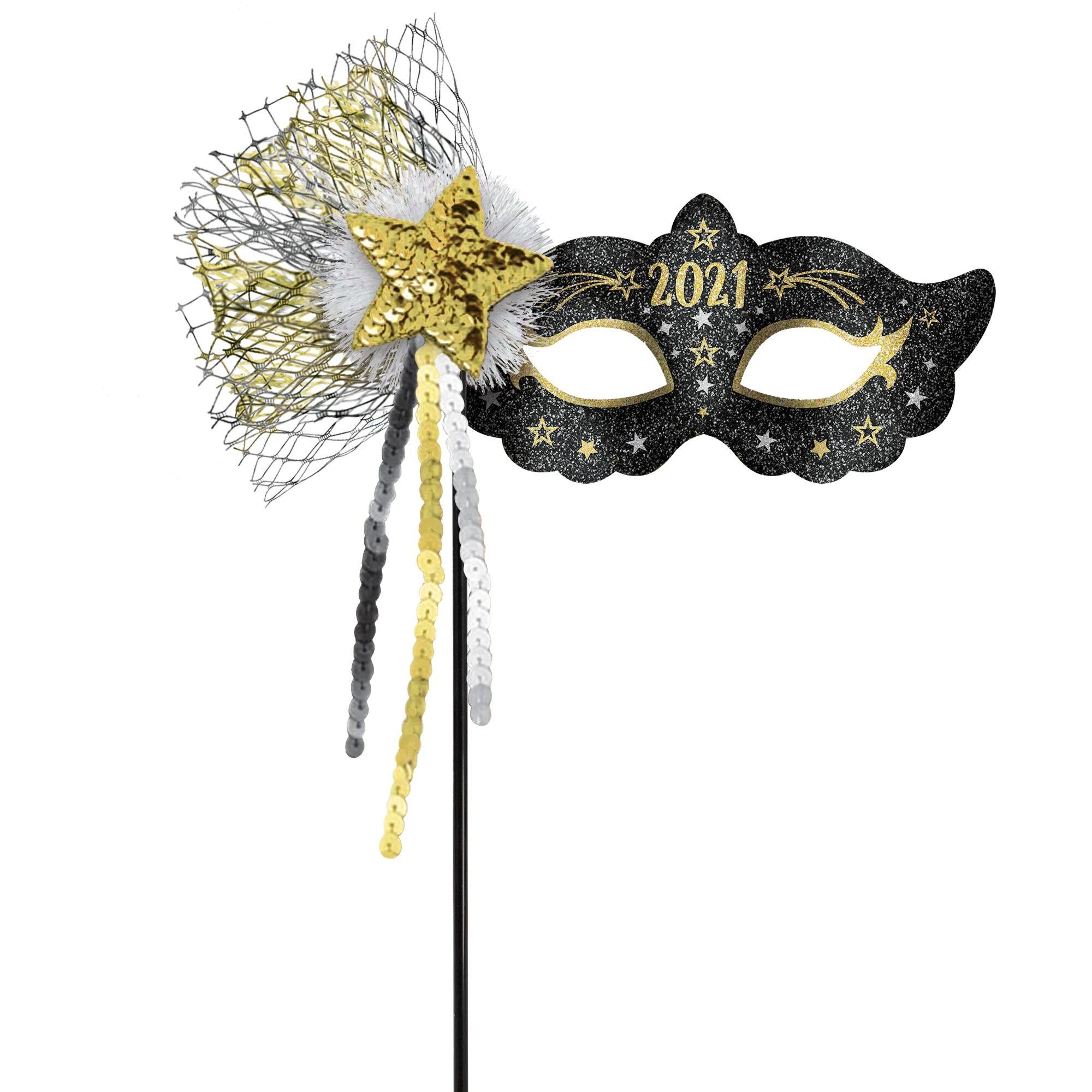 2021 Mask On A Stick