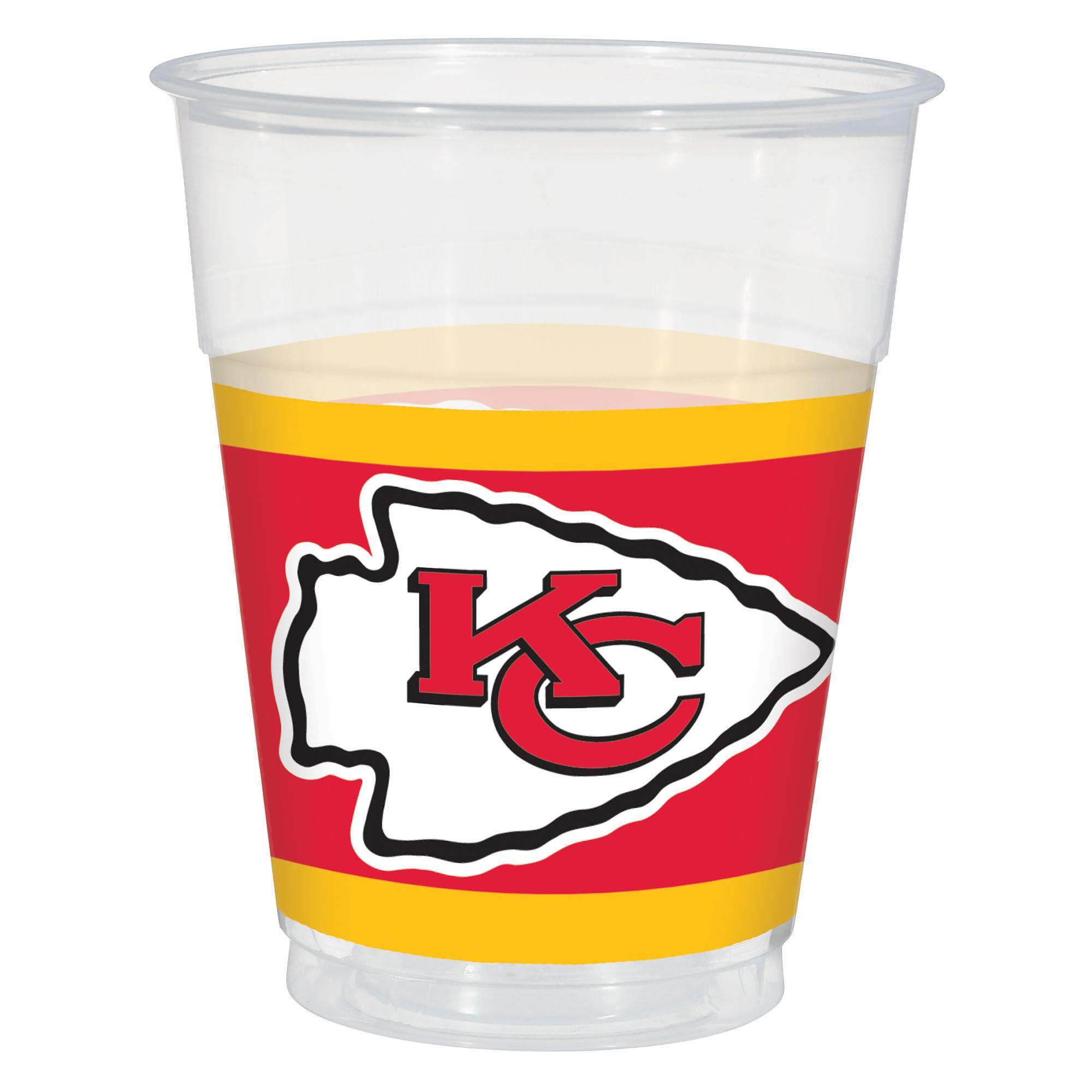 Kansas City Chiefs 16oz Cups