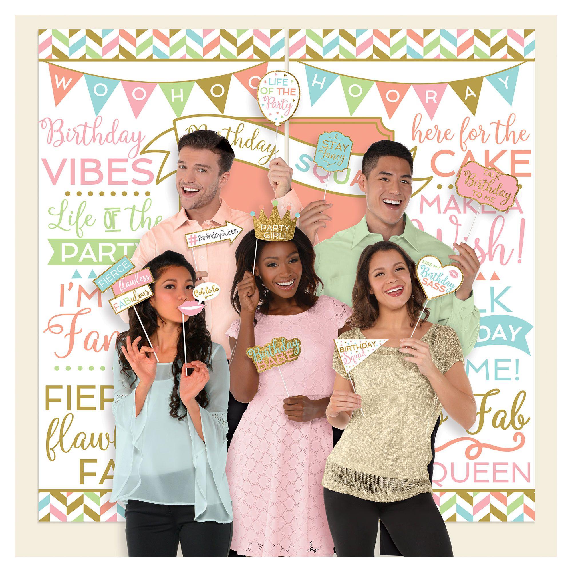 Confetti Fun Selfie SS w/Props