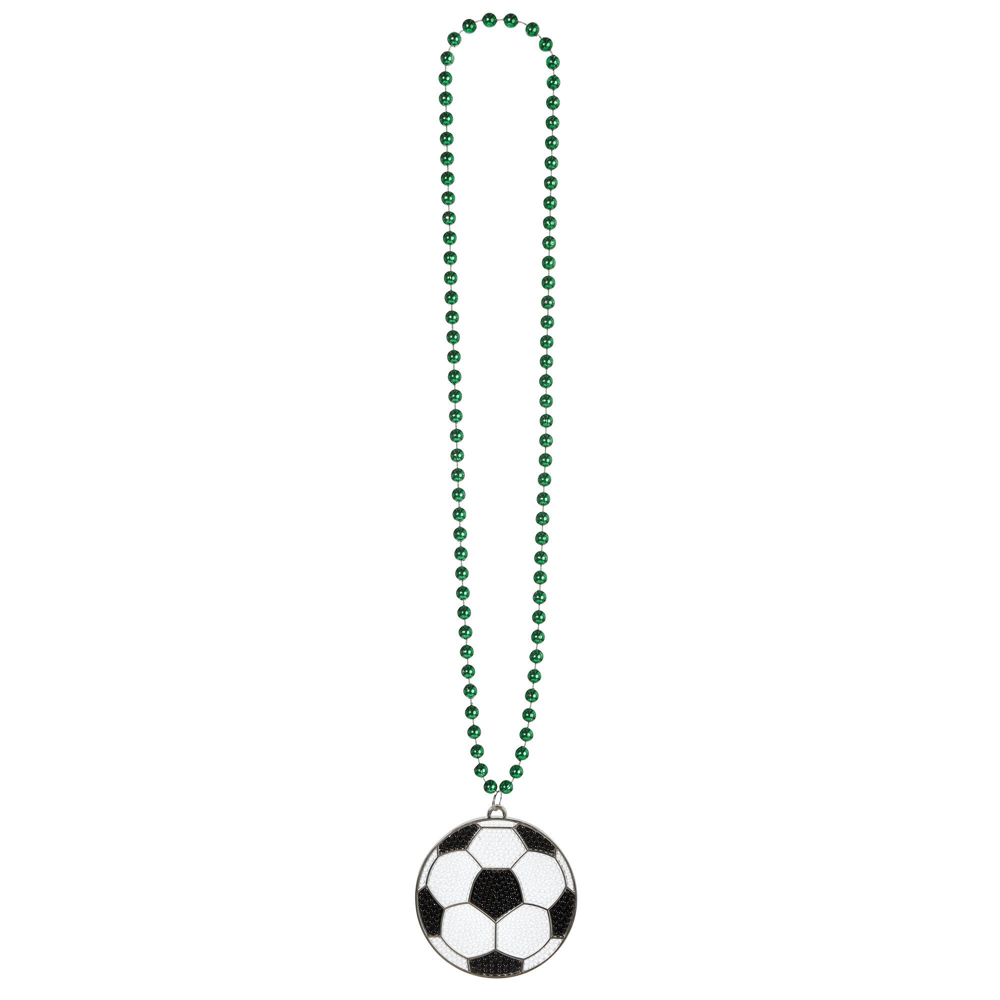 Soccer Bling Necklace