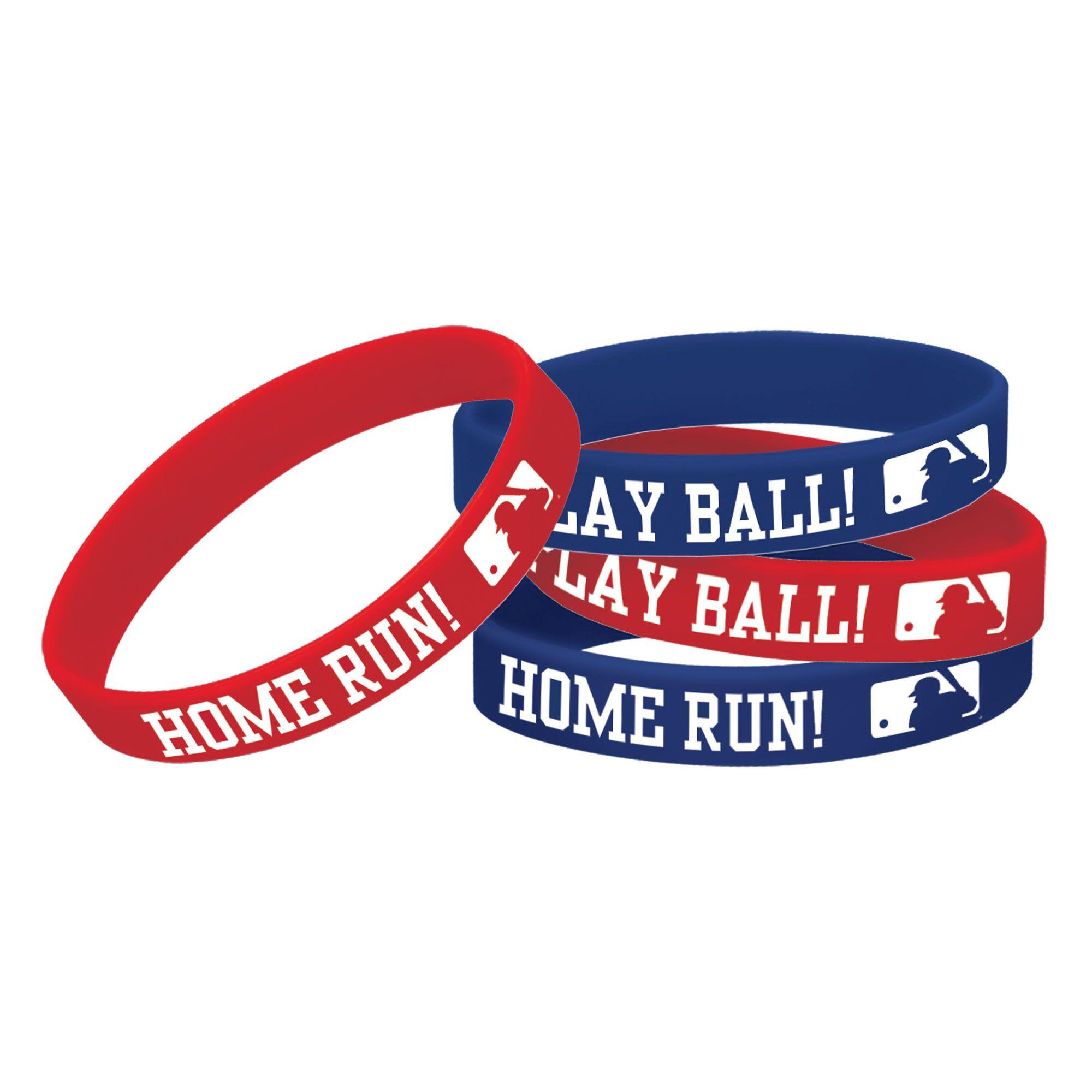 MLB Rubber Bracelet