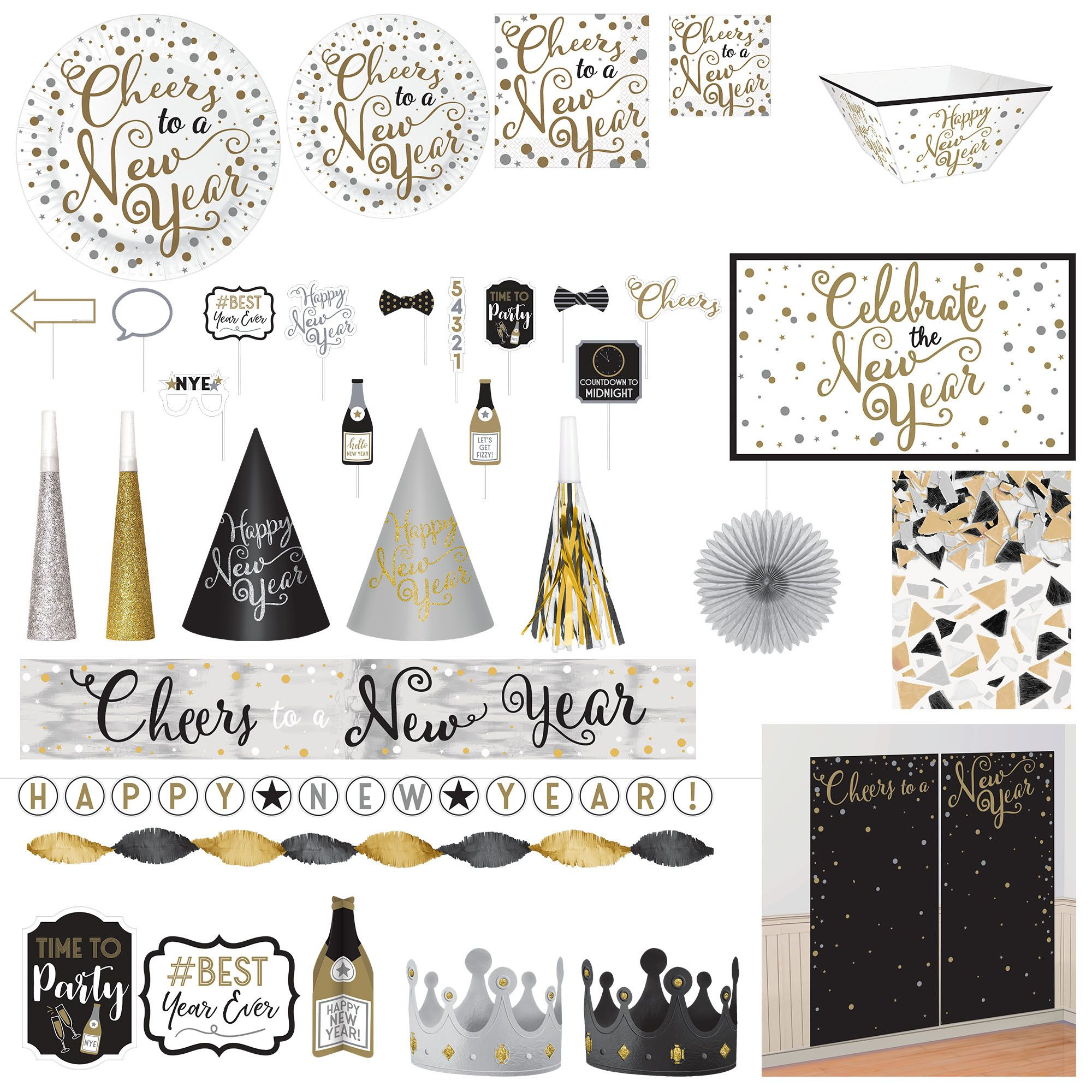 New Year's Insta-Party Kit
