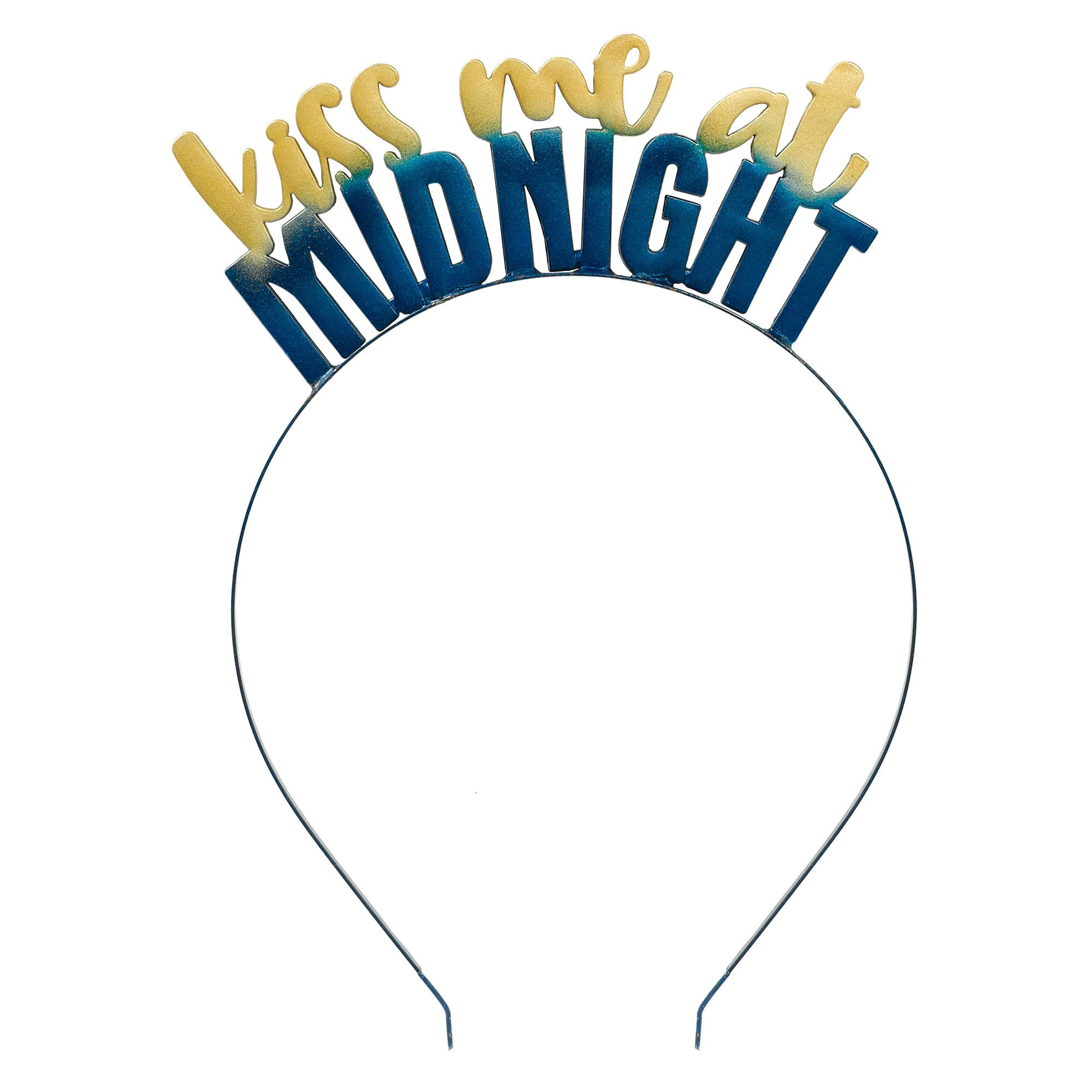 Midnight NYE Kiss Me Headband