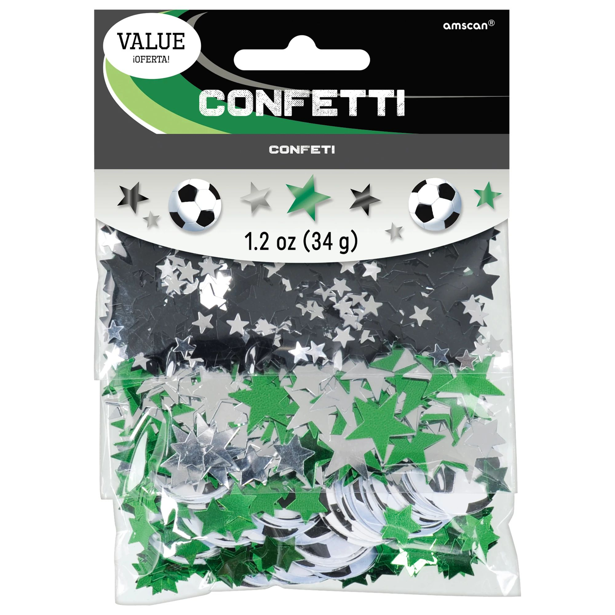 Soccer Value Confetti