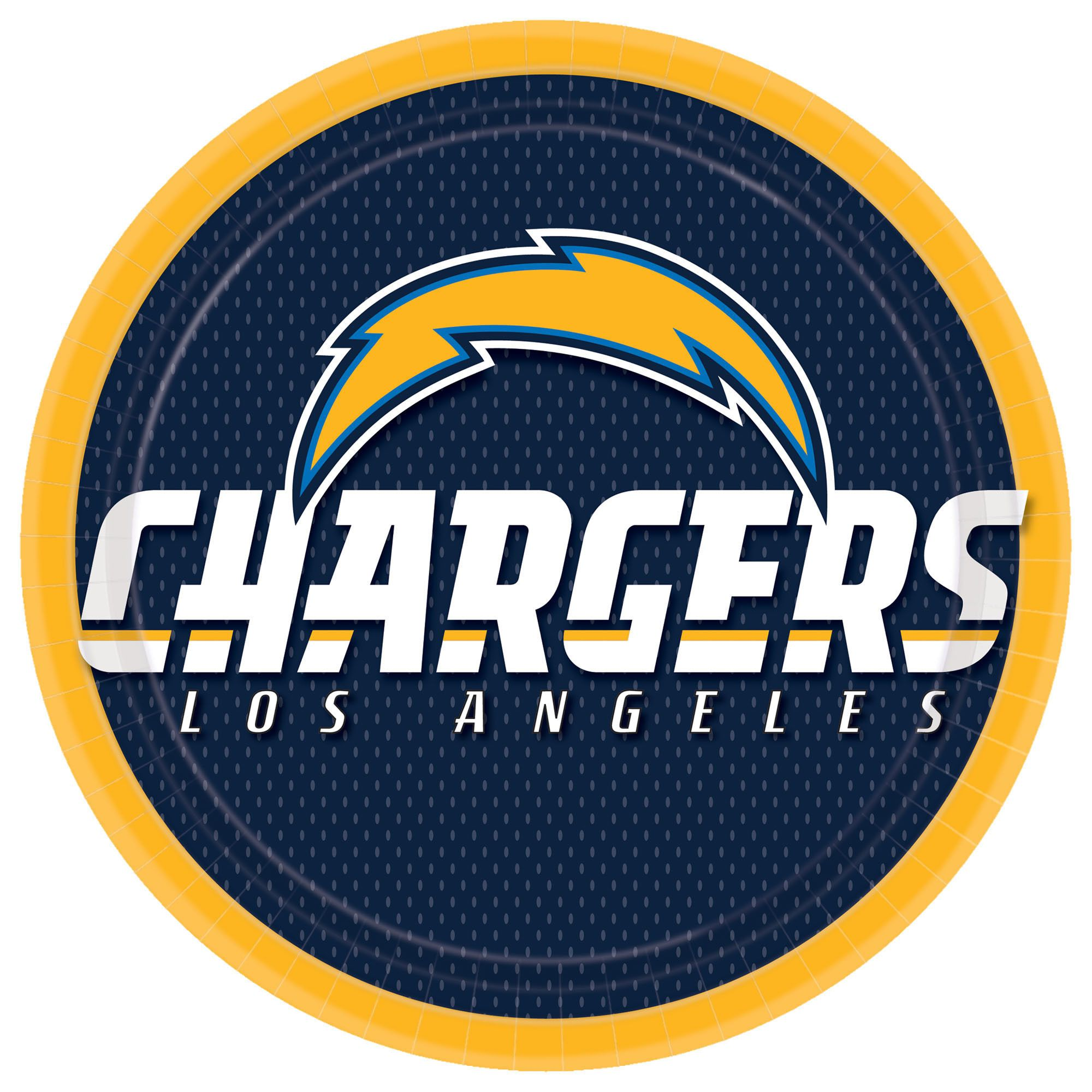 LA Chargers 9in Pl