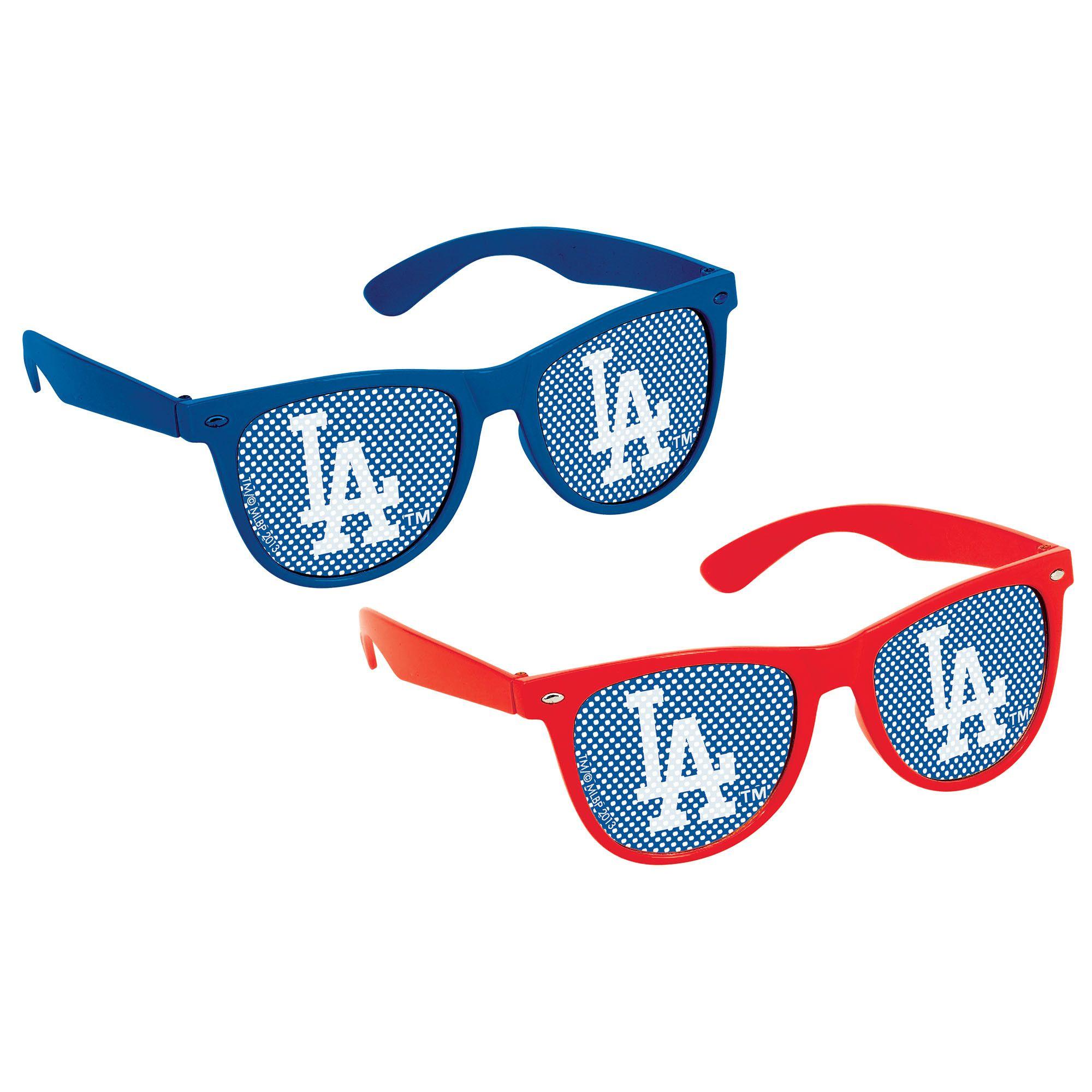 LA Dodgers Printed Glass 10ct