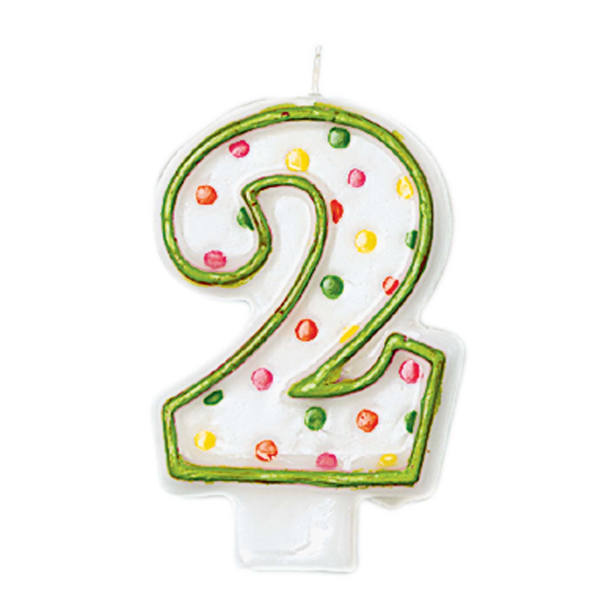 #2 Polka Dot Candle