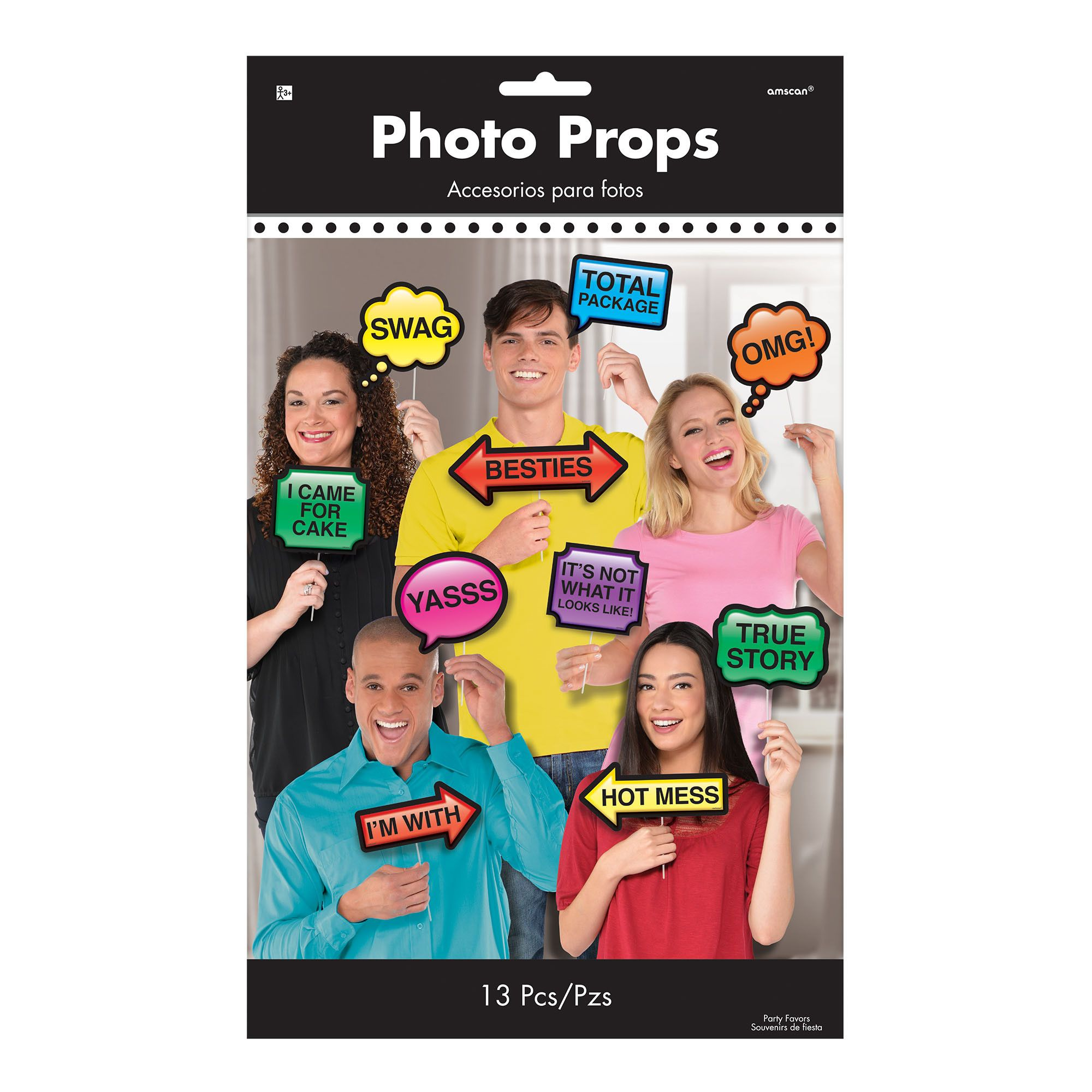 Photo Booth Photo Props Trendy
