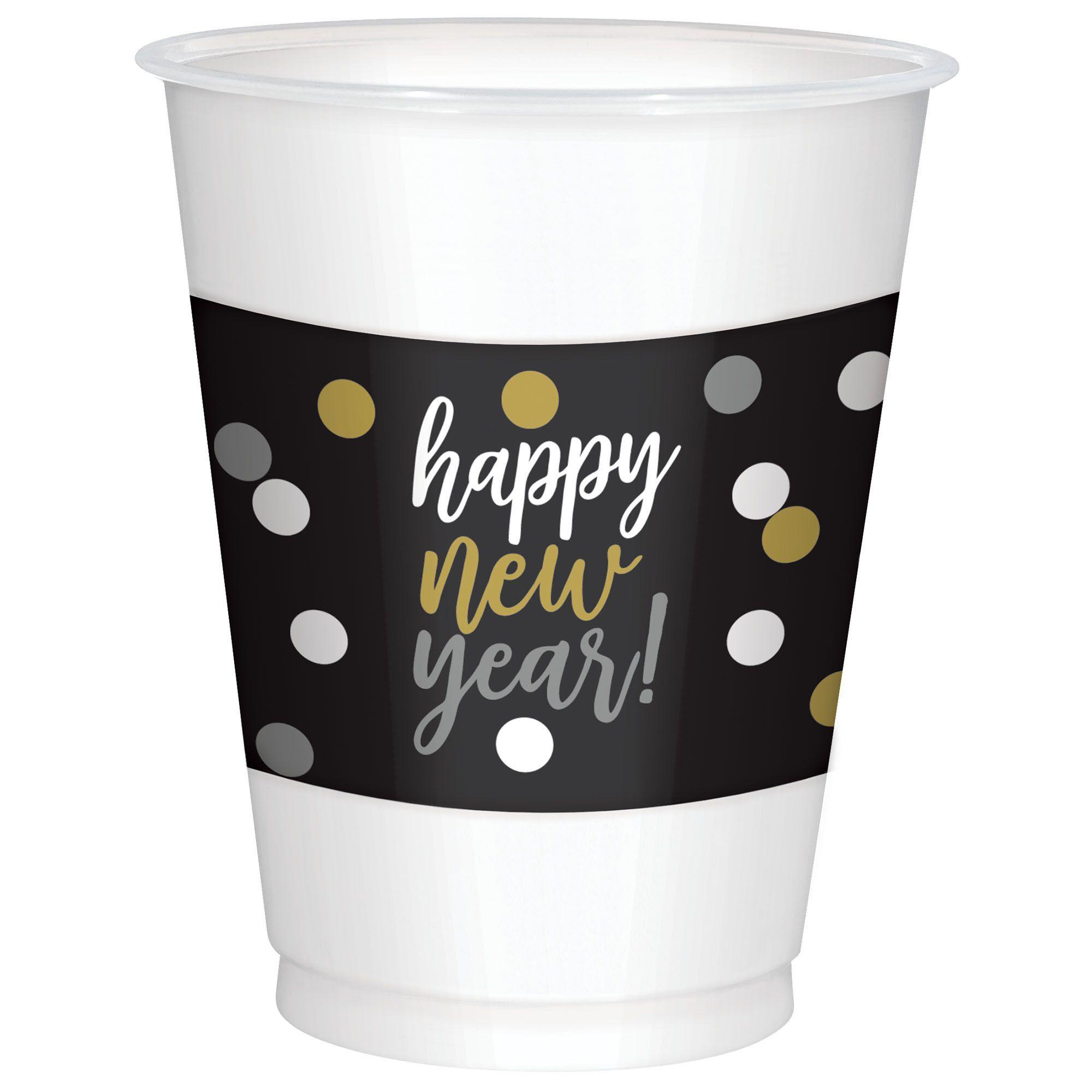 NYs Plastic Cups 16 oz