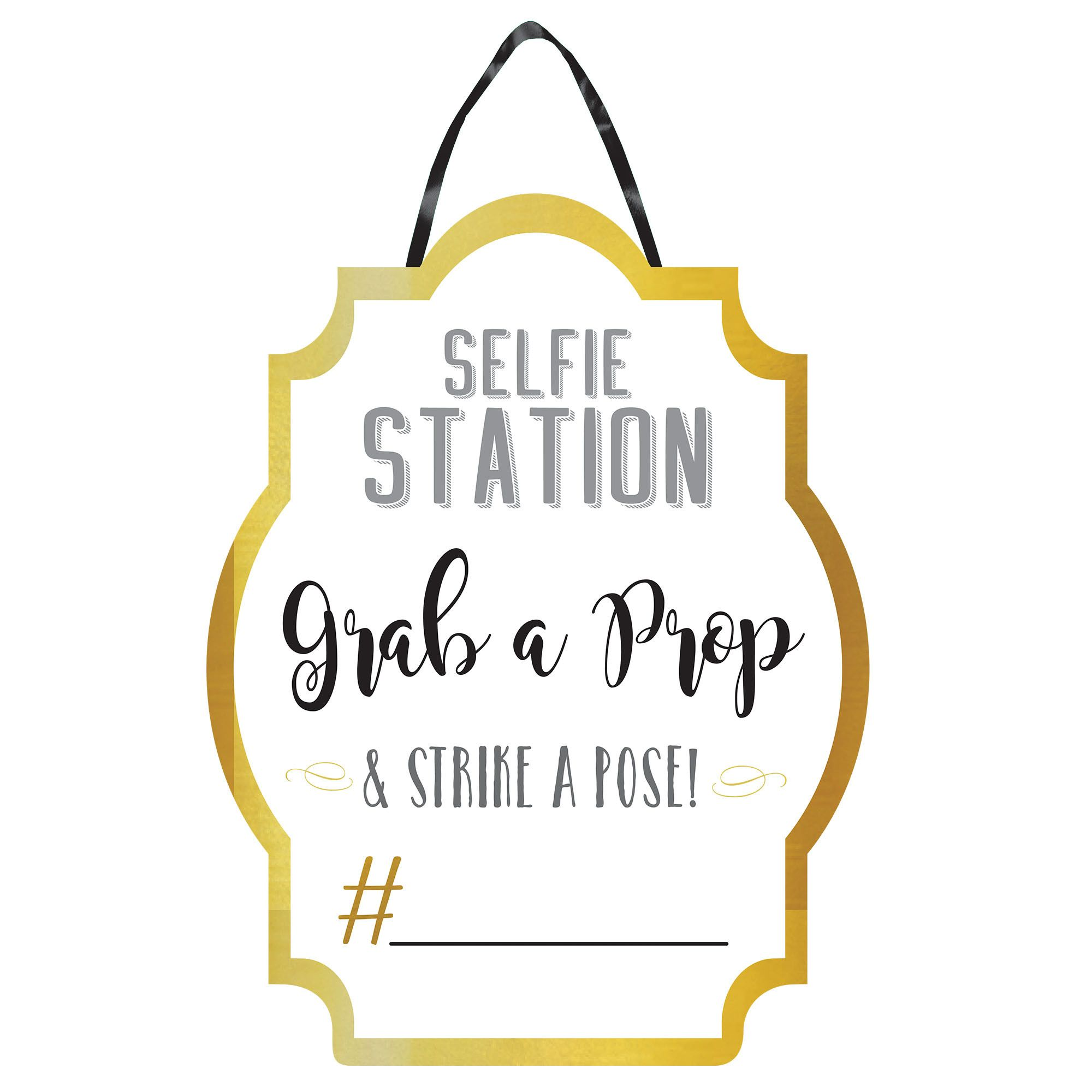 Photo Booth SelfieStation Sign