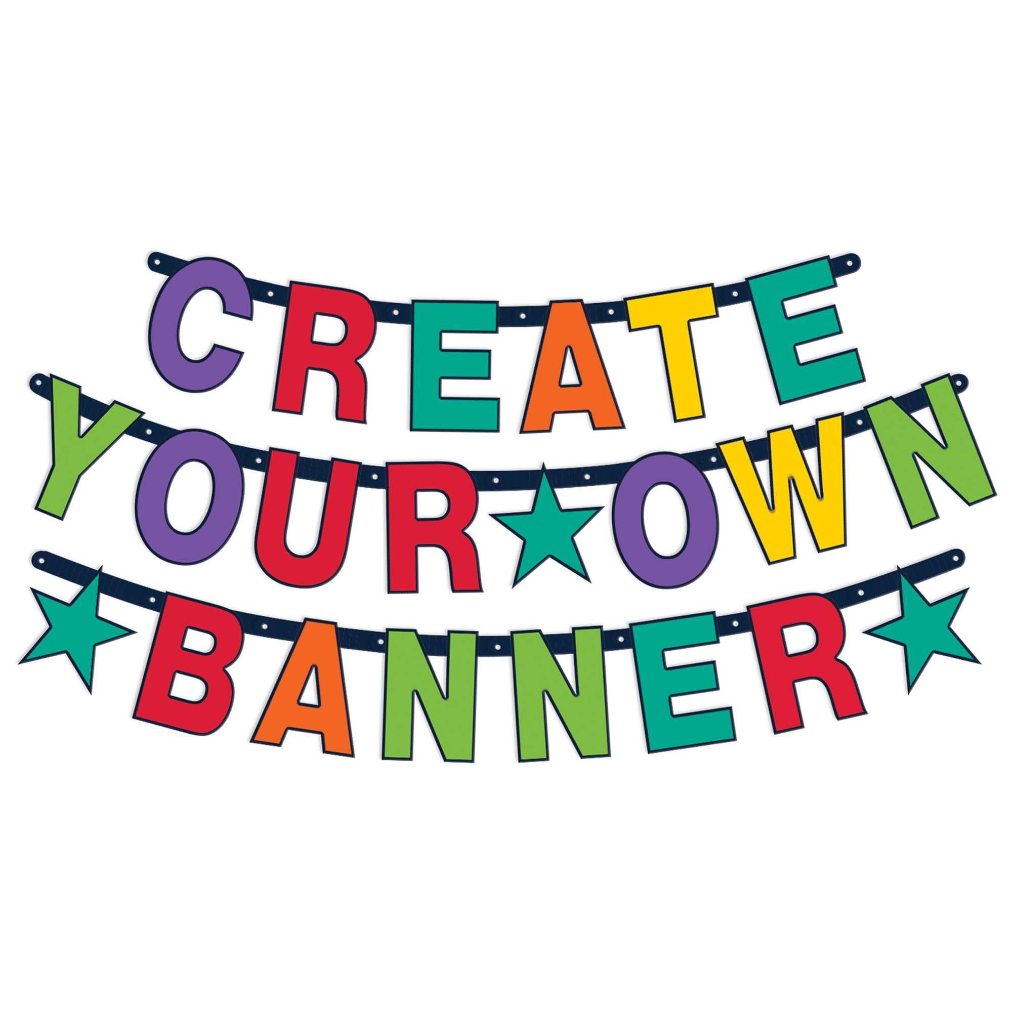 Bday Access Rainbow CYO Banner