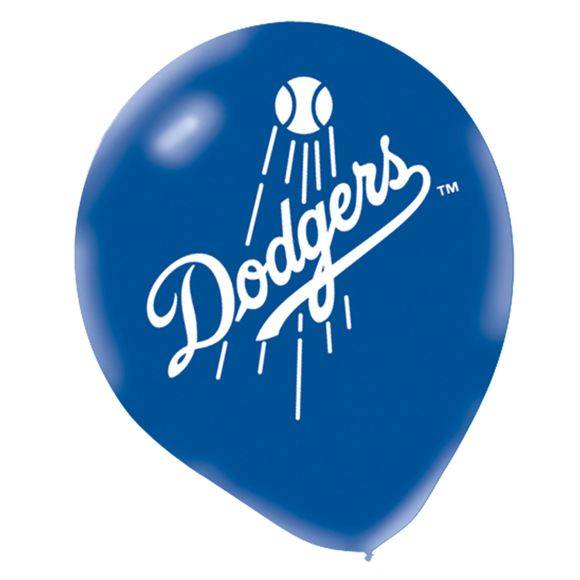 Dodgers Latex 6pc