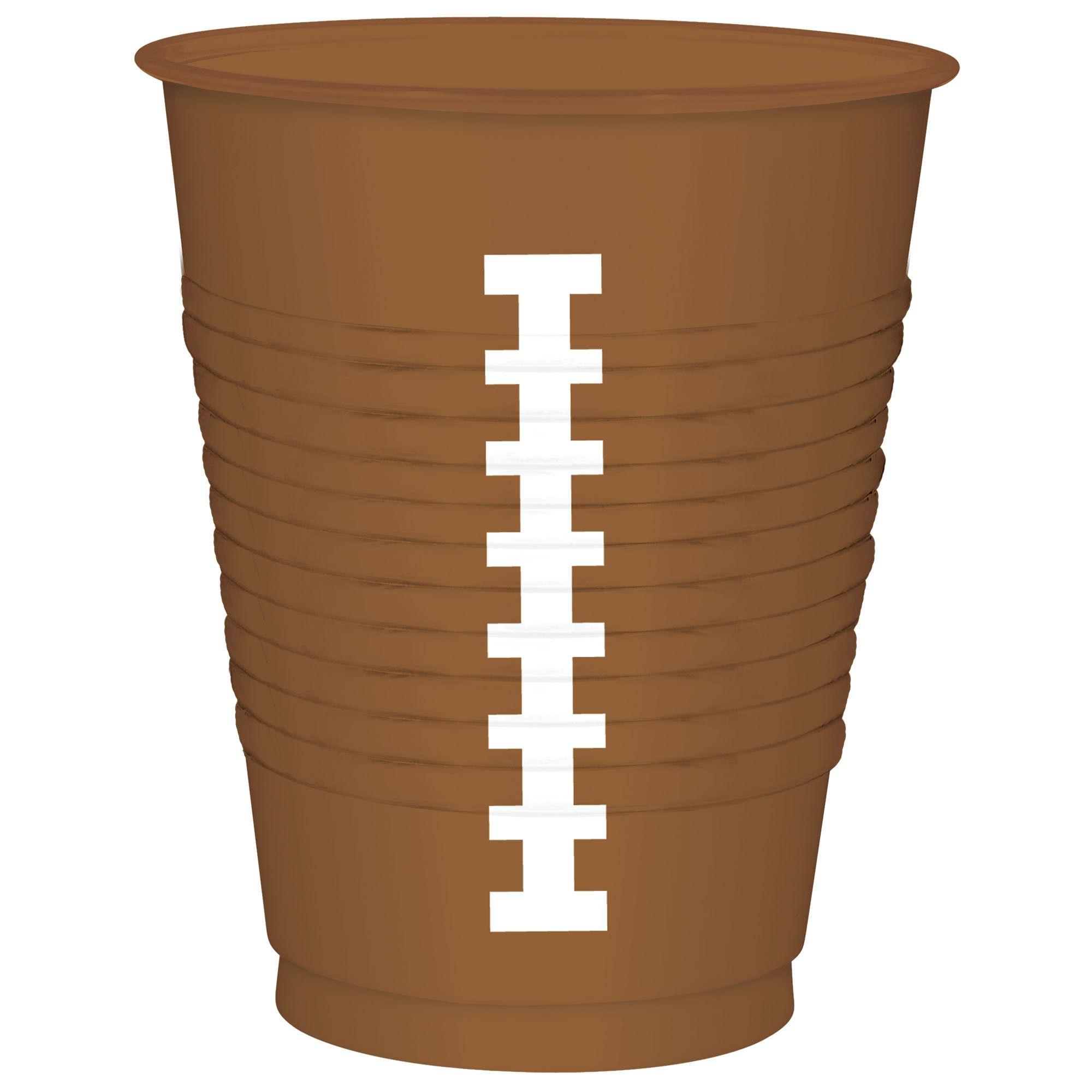 Football 16oz Cups