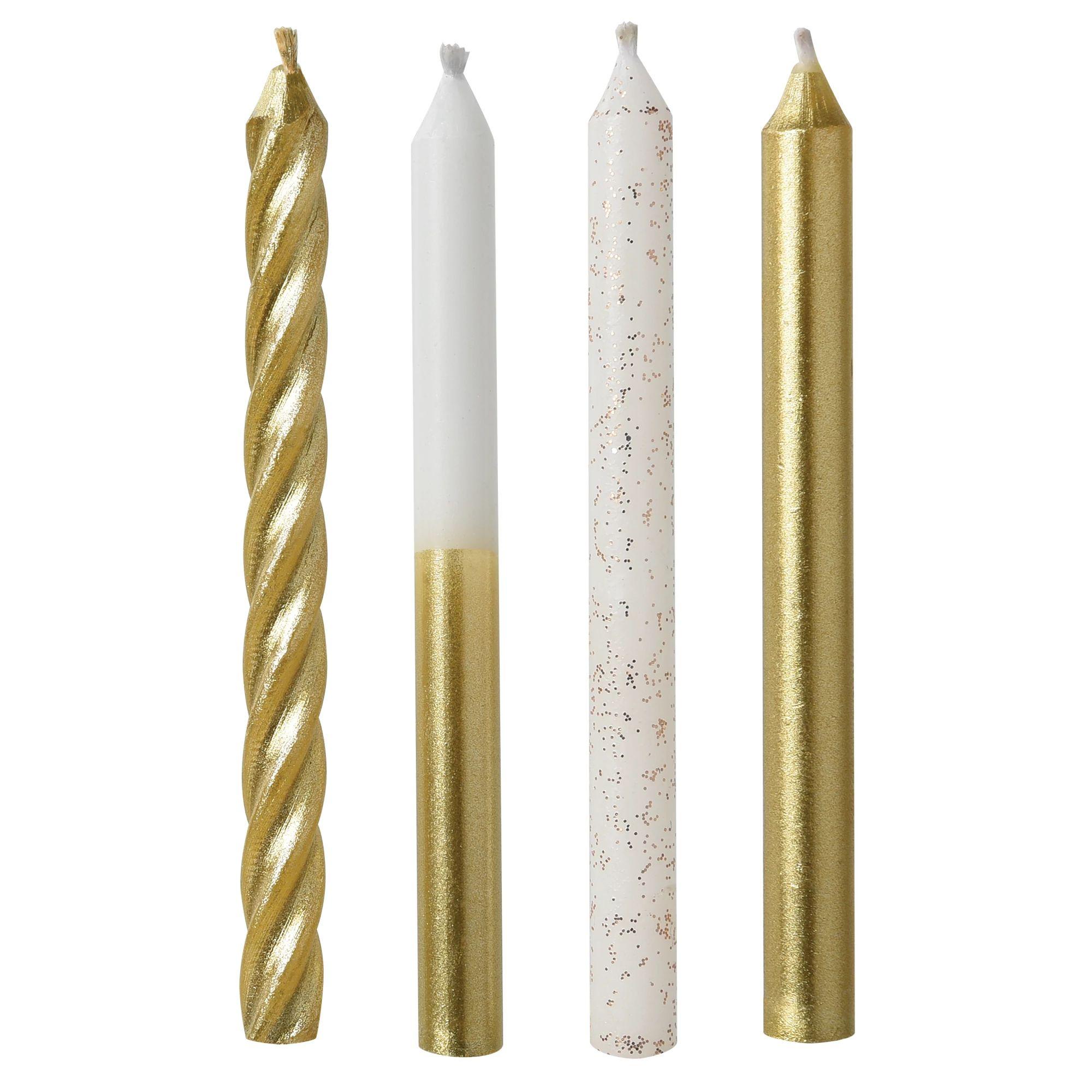 Gold Metallic Mixes w/Glitter