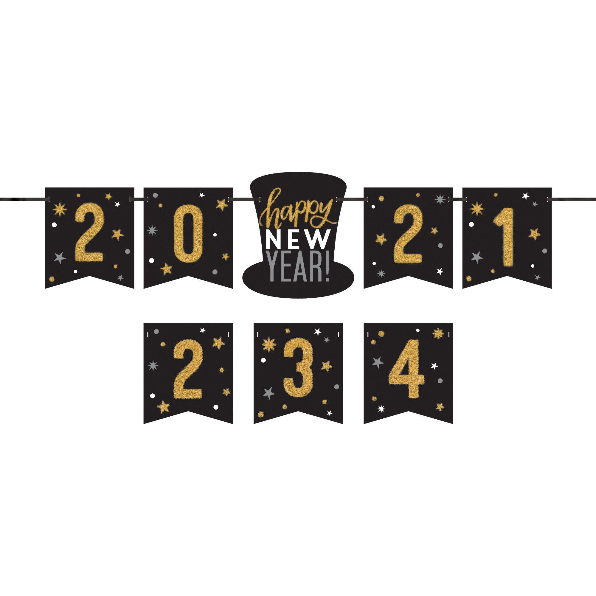 2021-24 HNY Personlized Letter Banner Kit