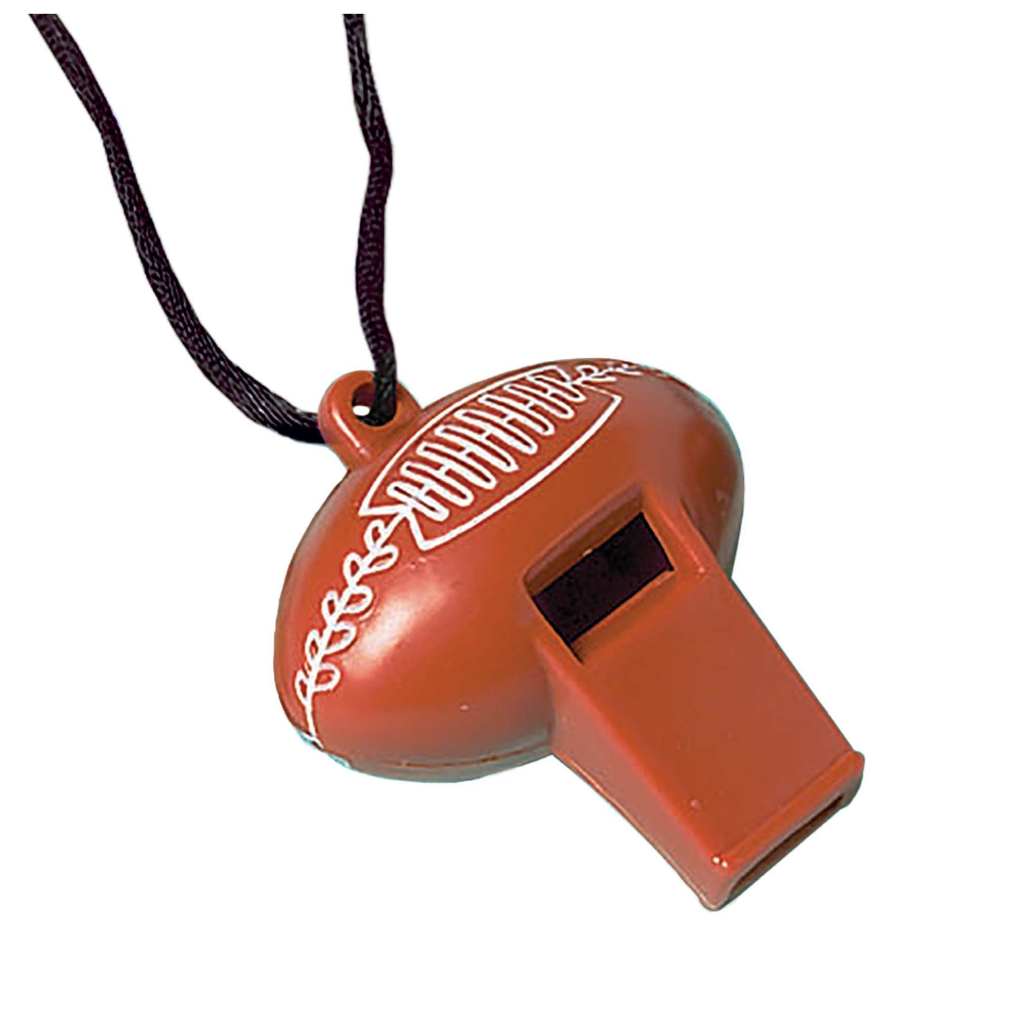GO Fight Win Football Whistle Favors