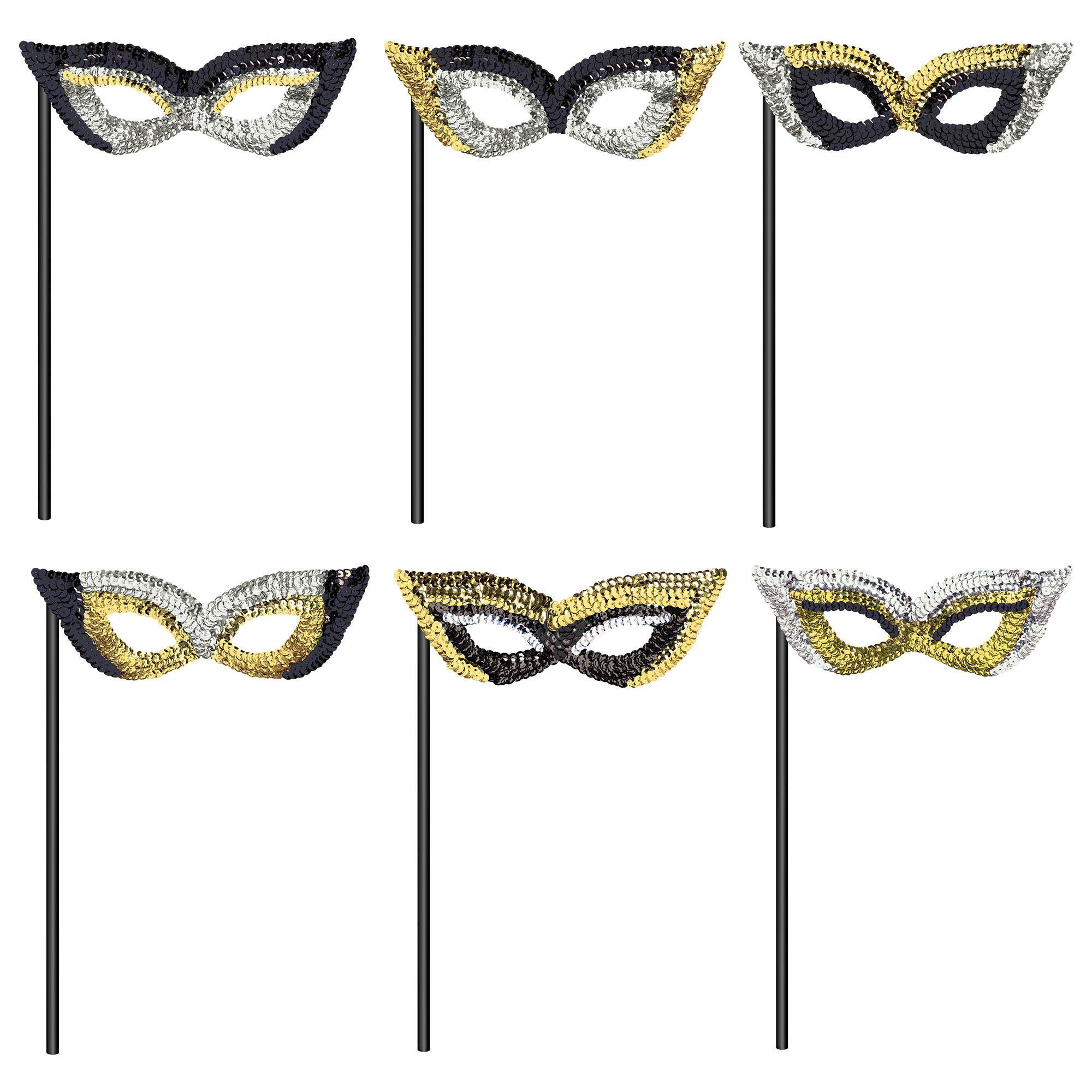 BSG Masks on Sticks