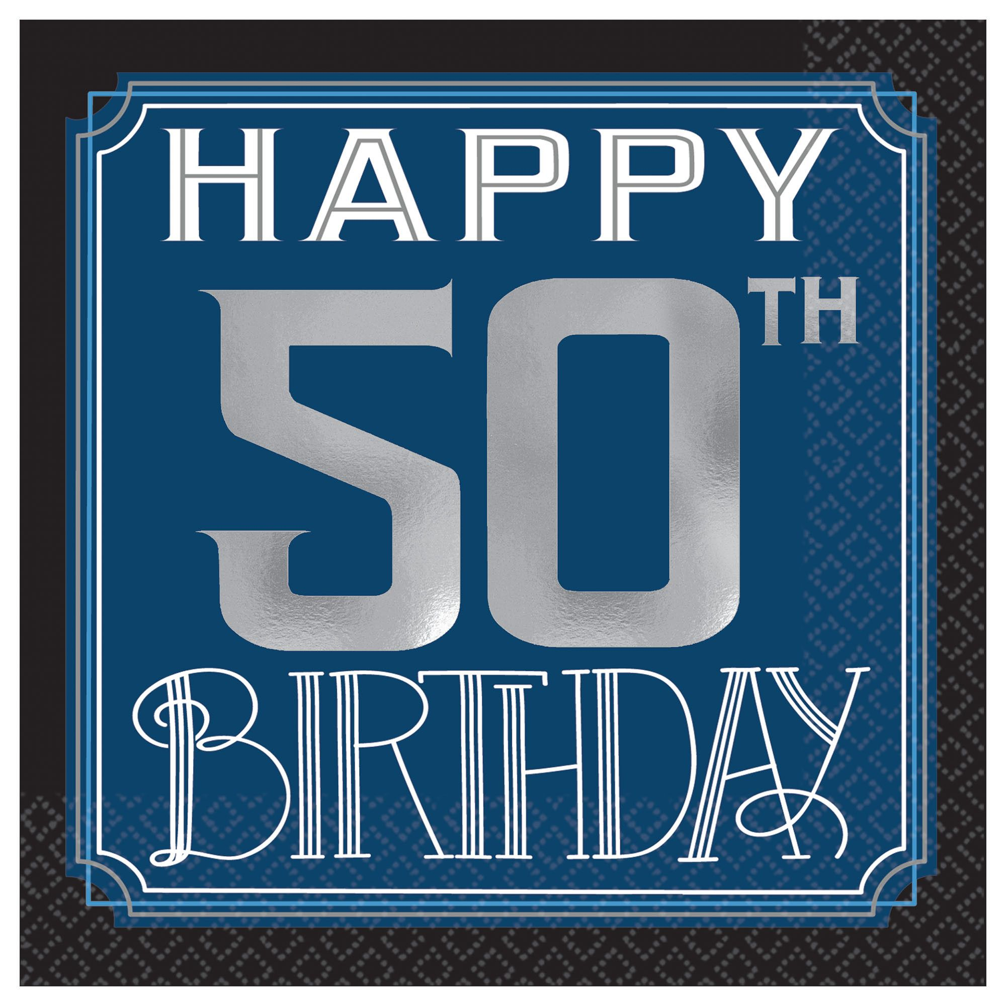 Happy Manly Bday 50th BN