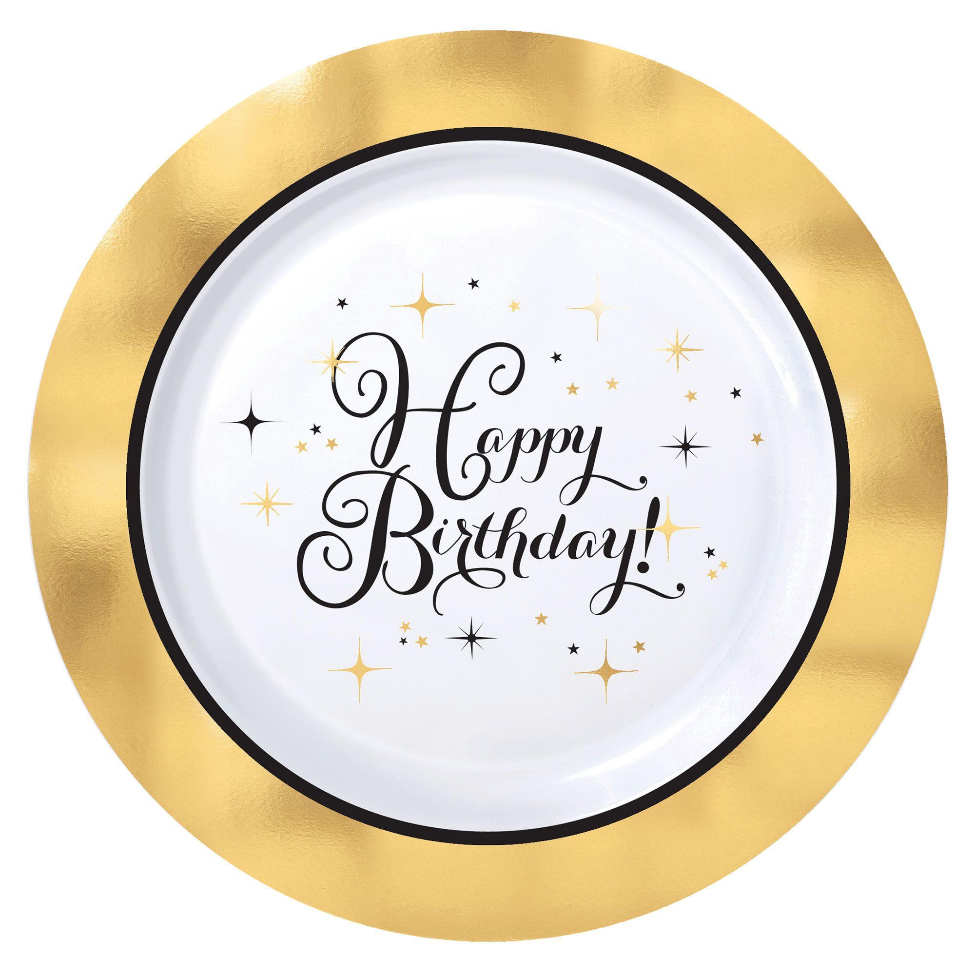 Gold Bday Premium 7