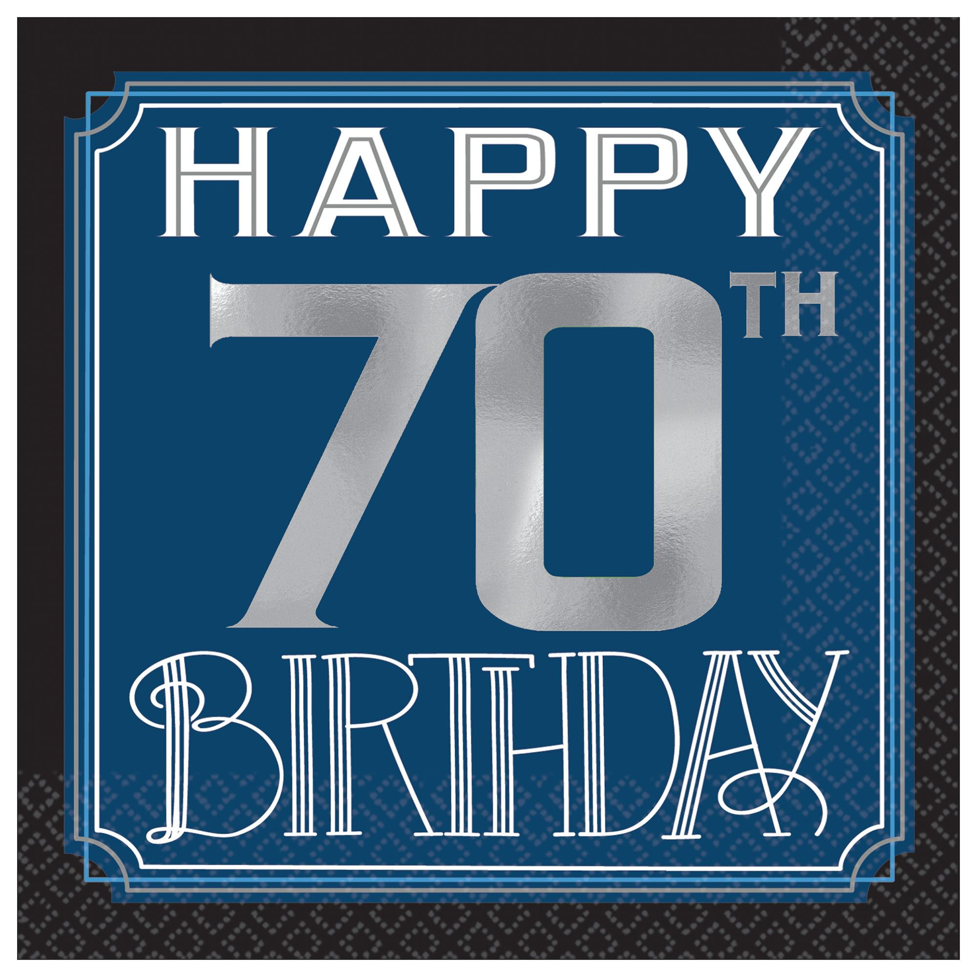 Happy Manly Bday 70th BN