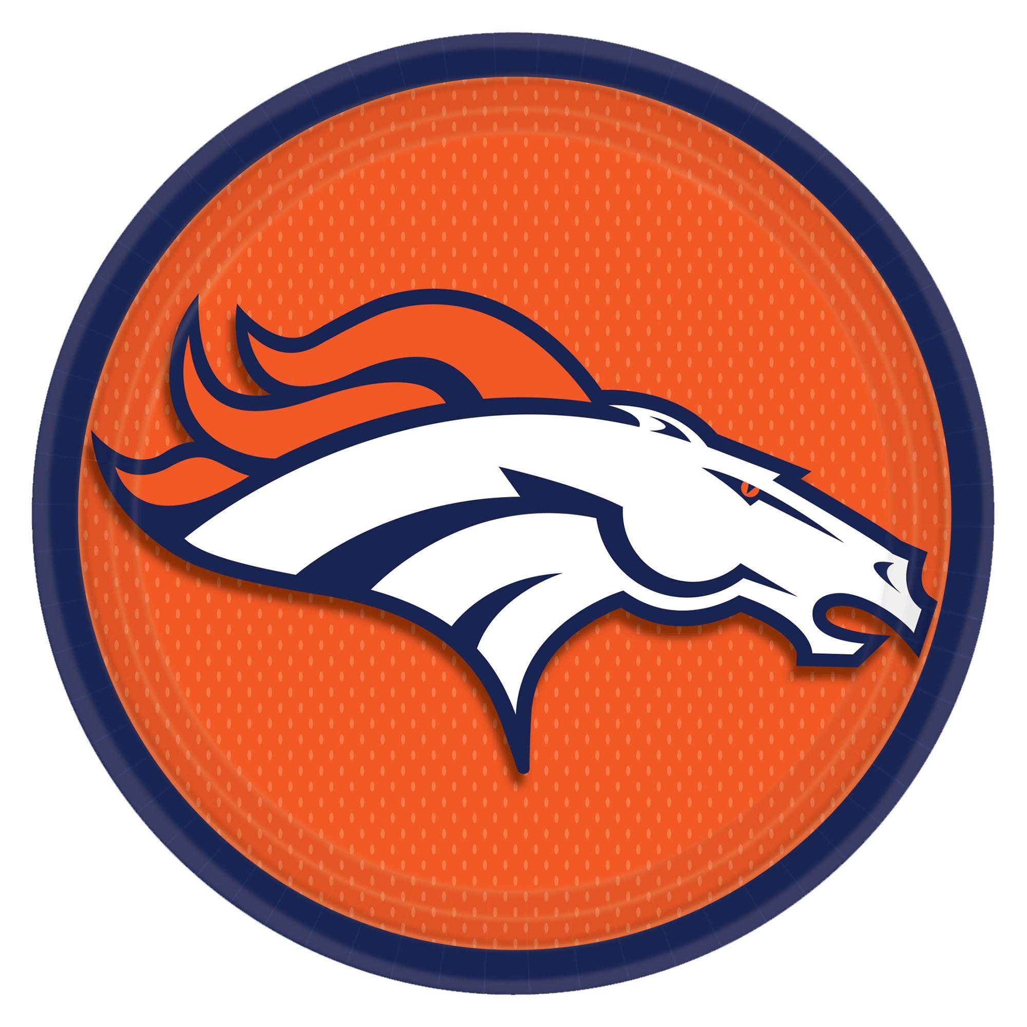 Denver Broncos 9in Pl