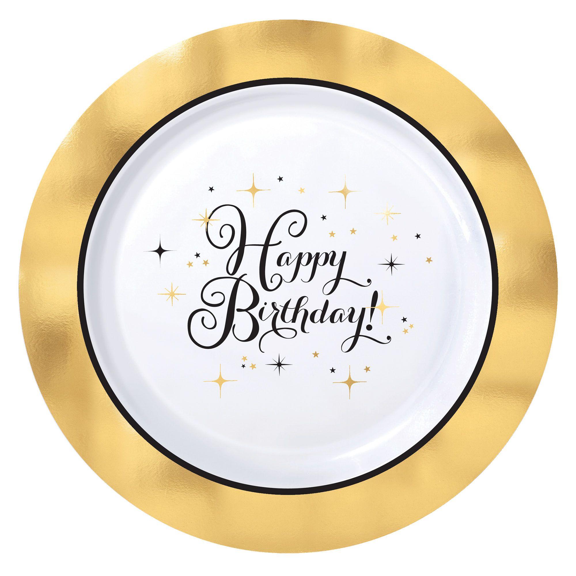 Gold Bday Premium 10